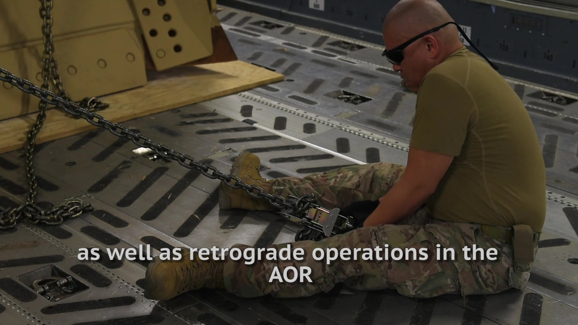 Check out how the 386th supports movement in the AOR in support of Operations Inherent Resolve and Freedom's Sentinel!