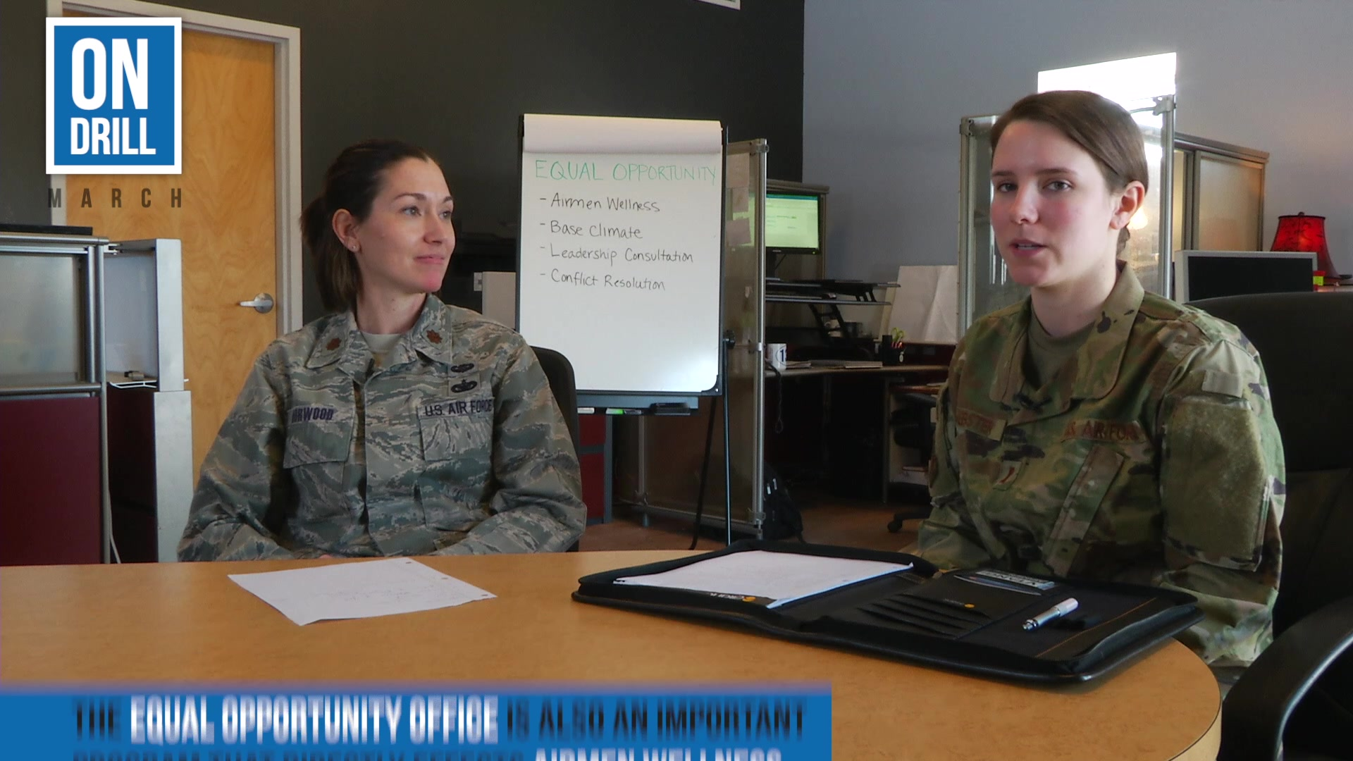 "Meet the team of professionals who make the Airman Wellness team at the 158th Fighter Wing. Our ""On Drill"" series takes a look into these programs and the resources they provide to the men and women of the Vermont Air National Guard and their families."