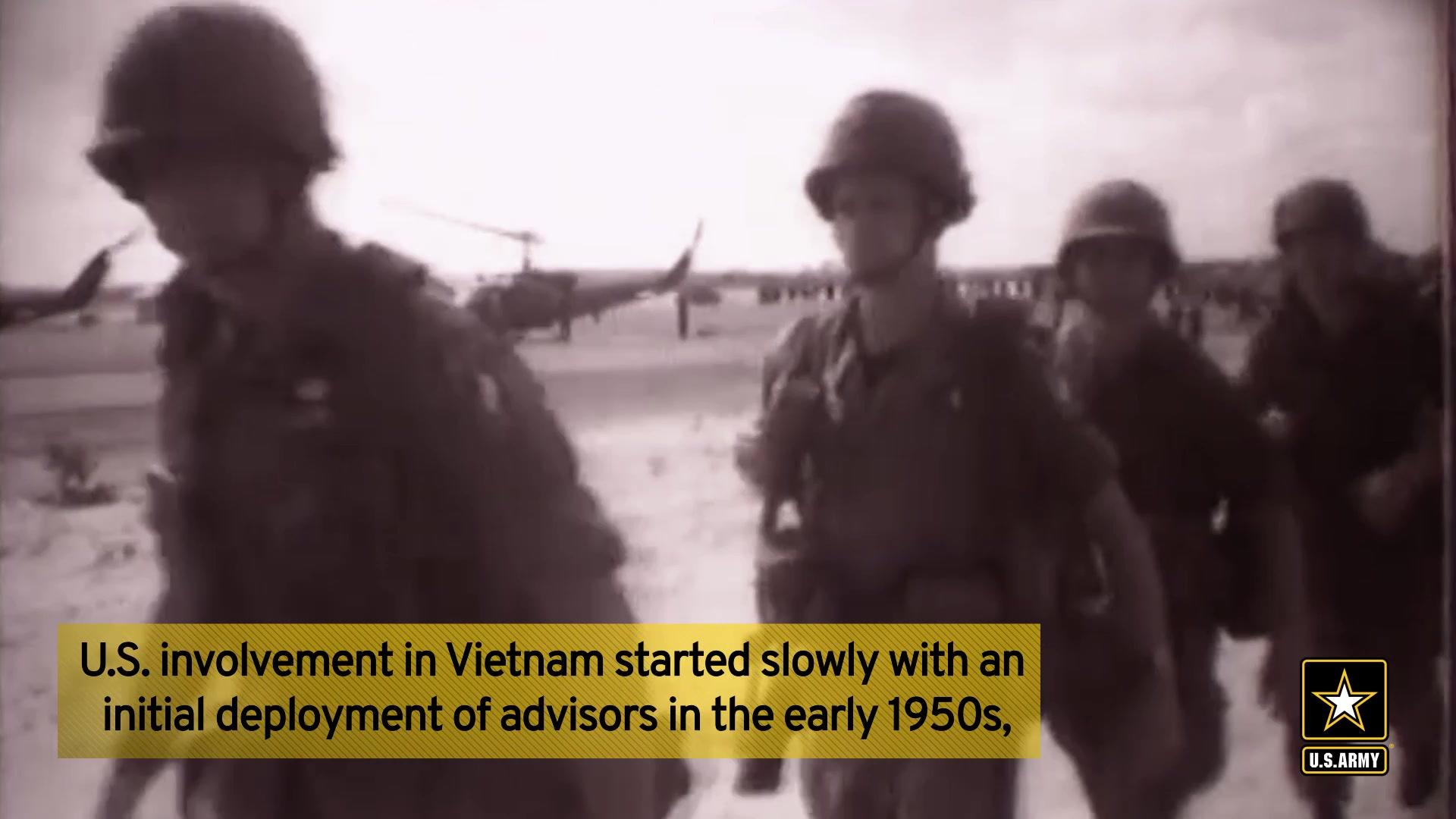 Vietnam War Veterans Day video made for Army social media use.