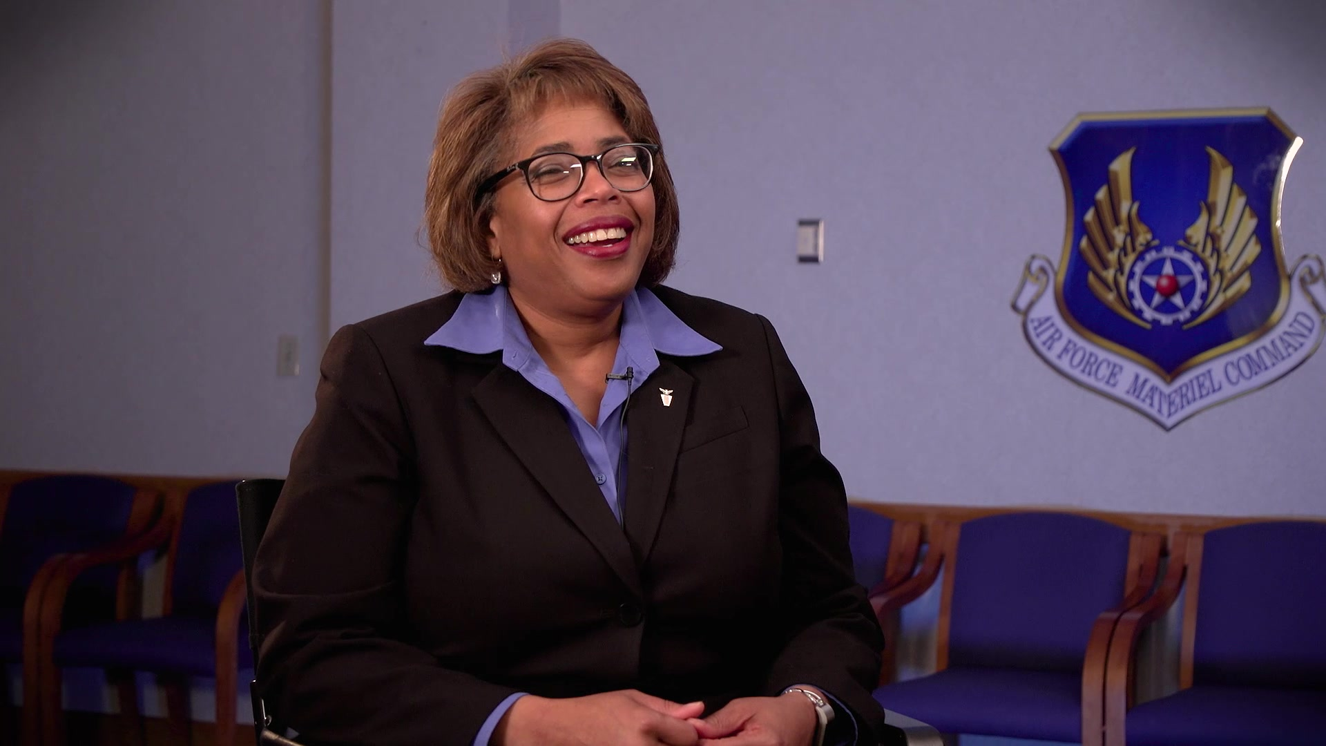 Ms. Teresa Bickett, Deputy Director of Financial Management, Air Force Materiel Command, Wright-Patterson Air Force Base, Ohio, shares her perspectives on the importance of mentorship, April 23, 2019. AFMC shares the impact of mentoring through first-person experiences from its leaders. (U.S. Air Force Video by Chris Decker)