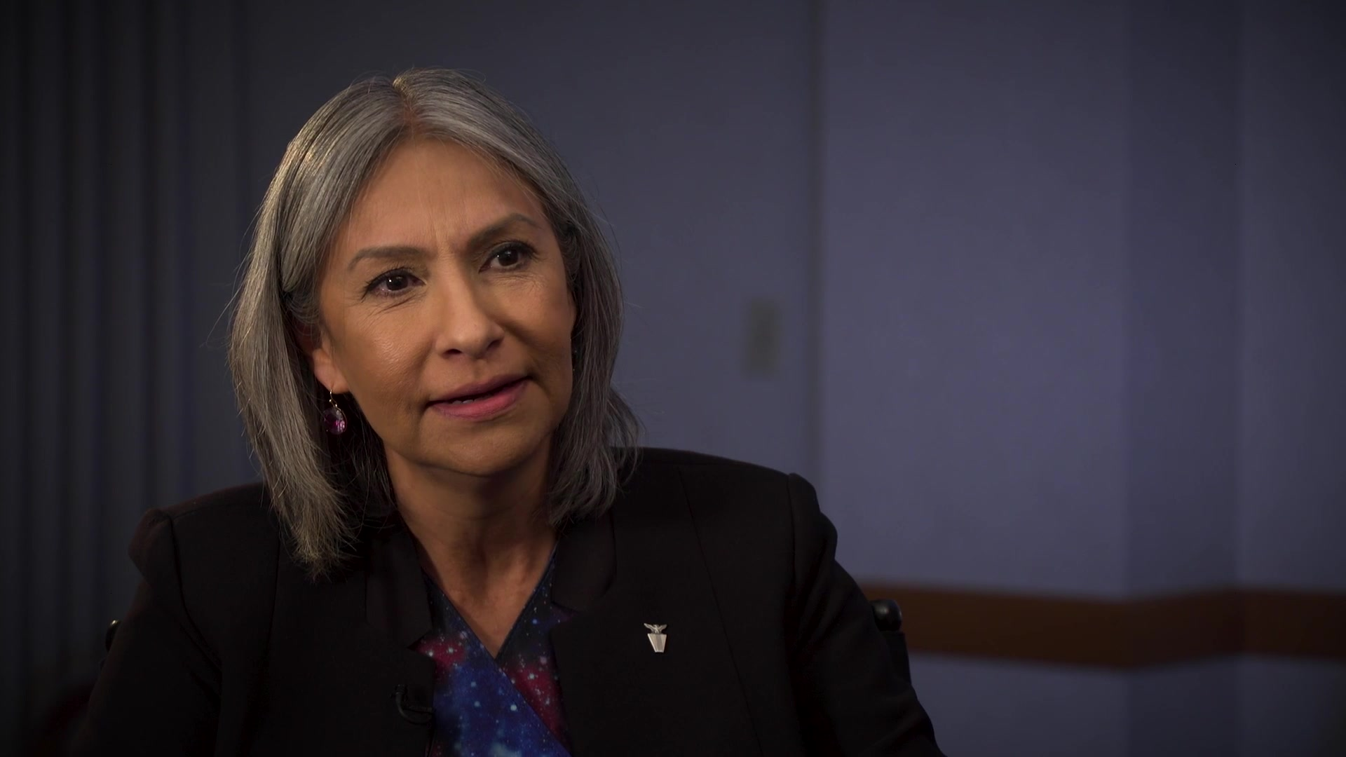 Sara Keller, Deputy Director of Logistics, Civil Engineering, Force Protection & Nuclear Integration, Air Force Materiel Command, Wright-Patterson Air Force Base, Ohio, shares her perspectives on the importance of mentorship, April 23, 2019. AFMC shares the impact of mentoring through first-person experiences from its leaders. (U.S. Air Force Video by Ryan Law)
