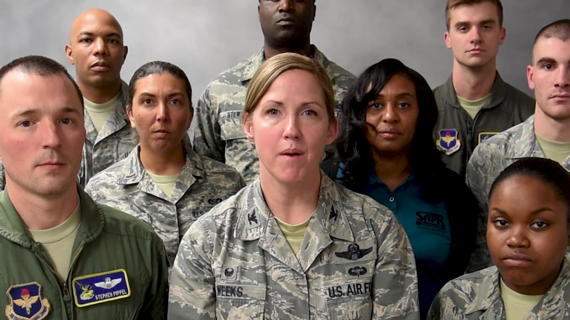 Columbus Air Force Base brings awareness to the number of people affected by sexual violence. Sexual violence affects hundreds of thousands of Americans each year. Among them are our brothers and sisters in the United States Air Force.
