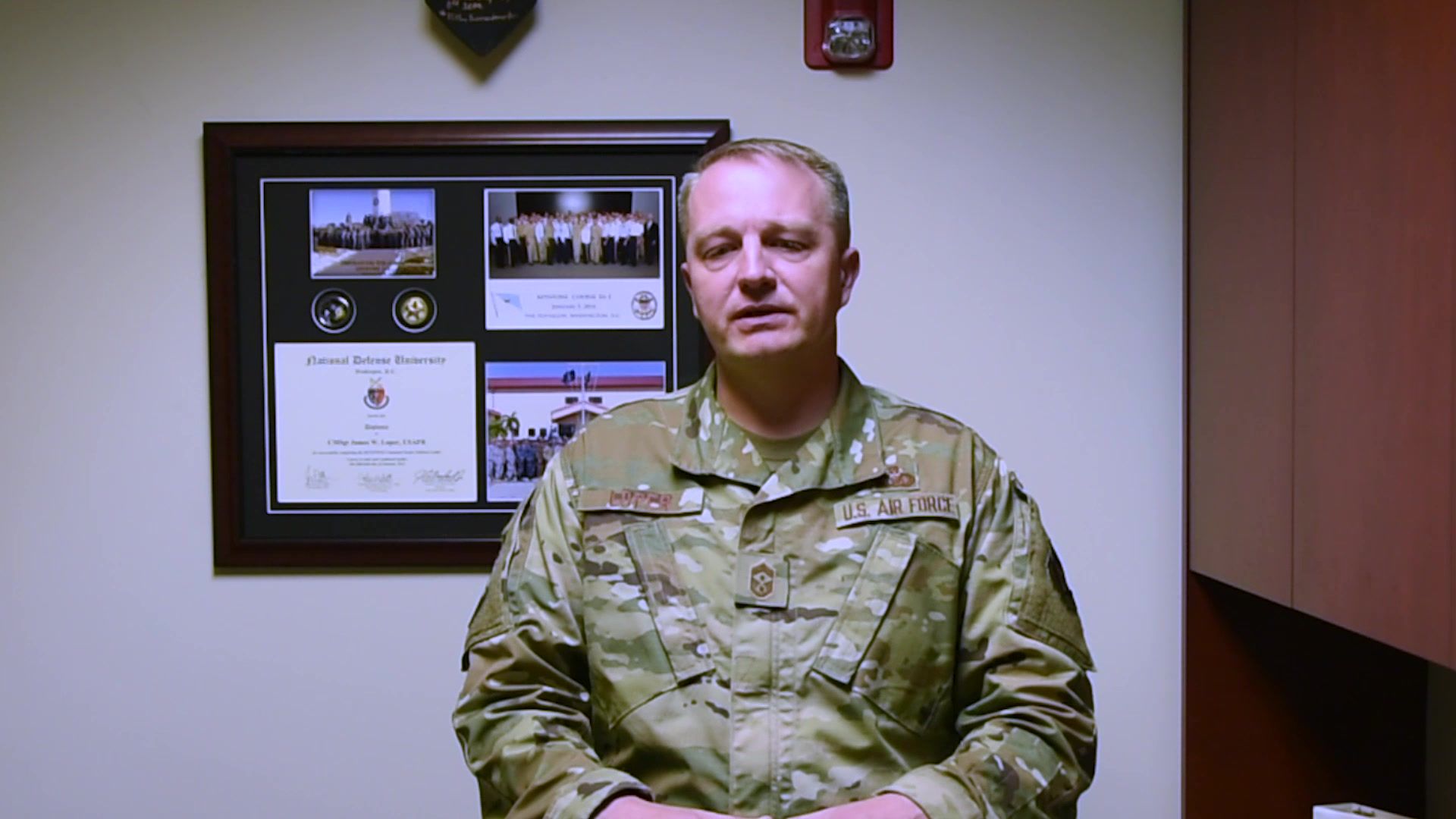In the May Commentary, Chief Master Sgt. James Loper, 10th Air Force Command Chief, talks about suicide prevention.