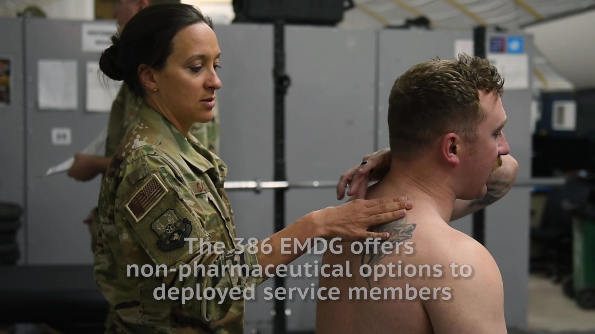 Check out how the 386 Expeditionary Medical Group helps Airmen with the treatment of pain using alternative methods!