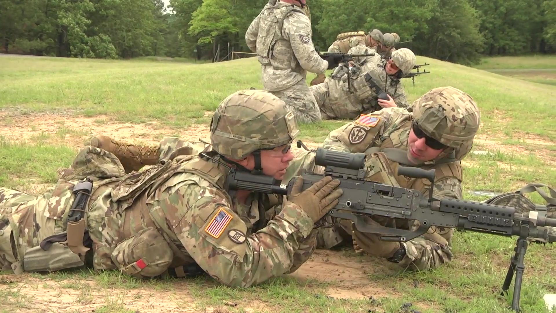 Image result for national guard machine gun matches