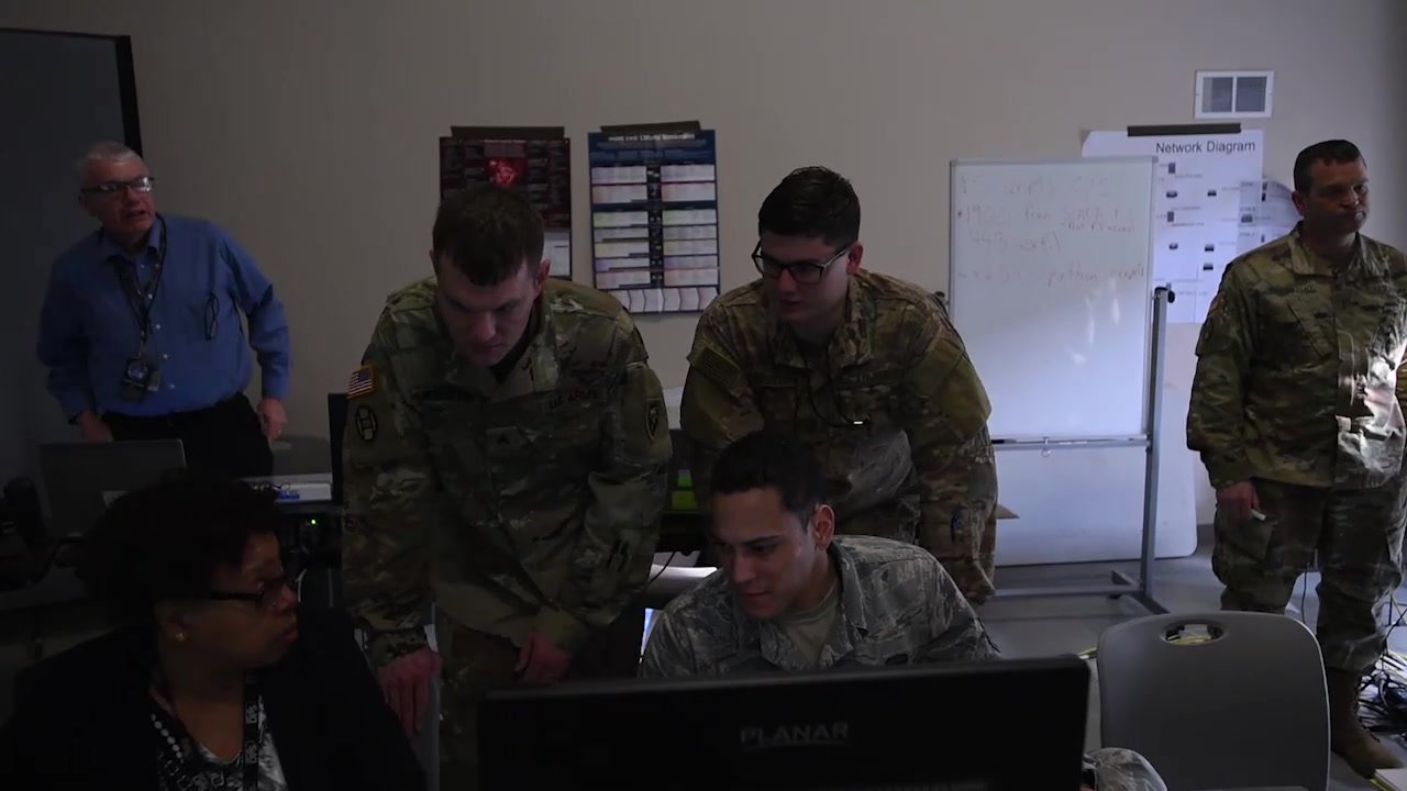 Members of the North Carolina Air National Guards 263rd Combat Communications Squadron attend an annual training event called Operation Cyber Shield. This training helps Airman practice digital security techniques and improves their overall operating effectiveness.