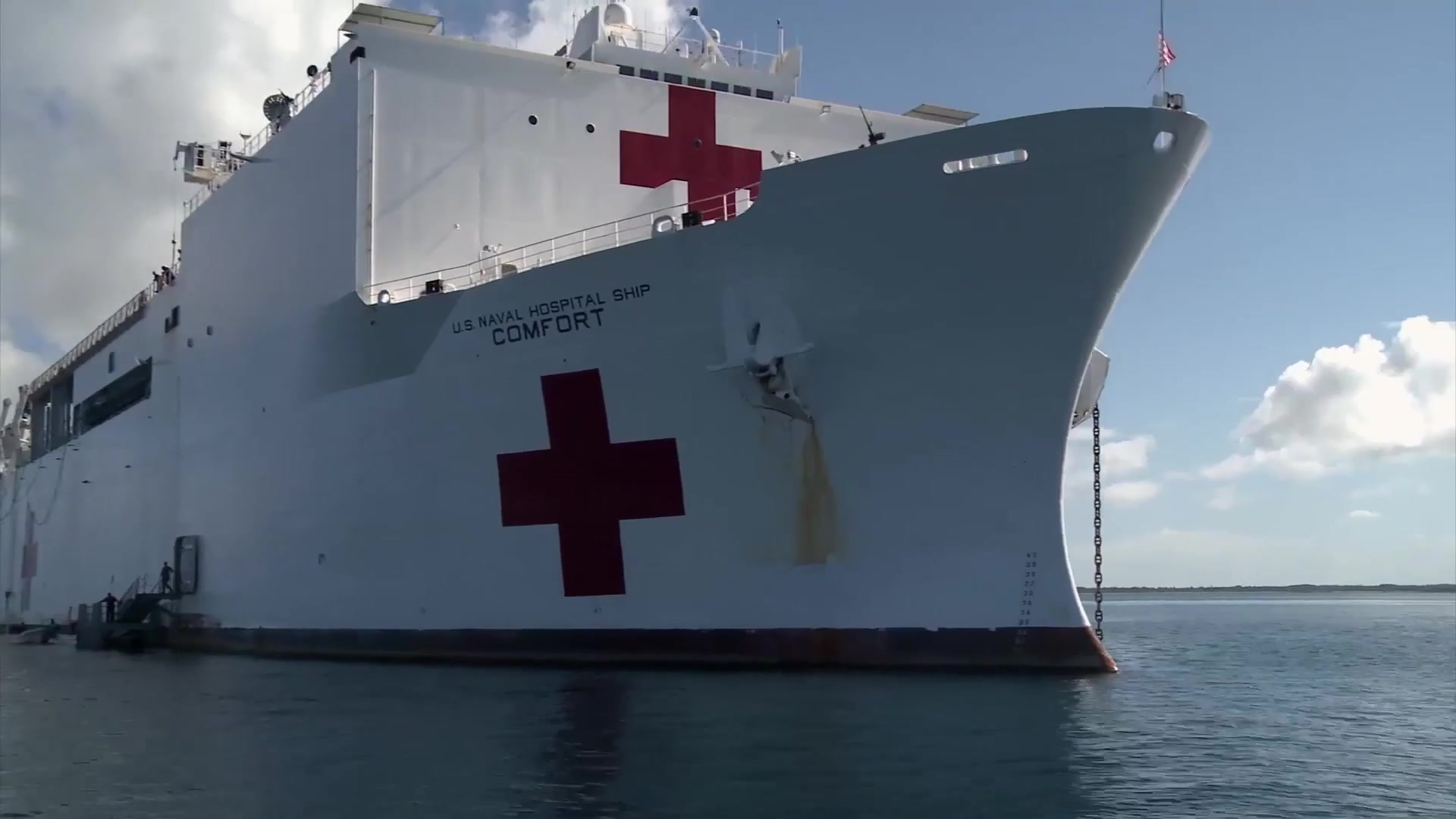 The USNS Comfort celebrates her seventh deployment as part of U.S. Southern Command's enduring promise of care and friendship for partner nations in the Americas. During the five-month humanitarian tour, the ship will conduct port calls to 12 nations.