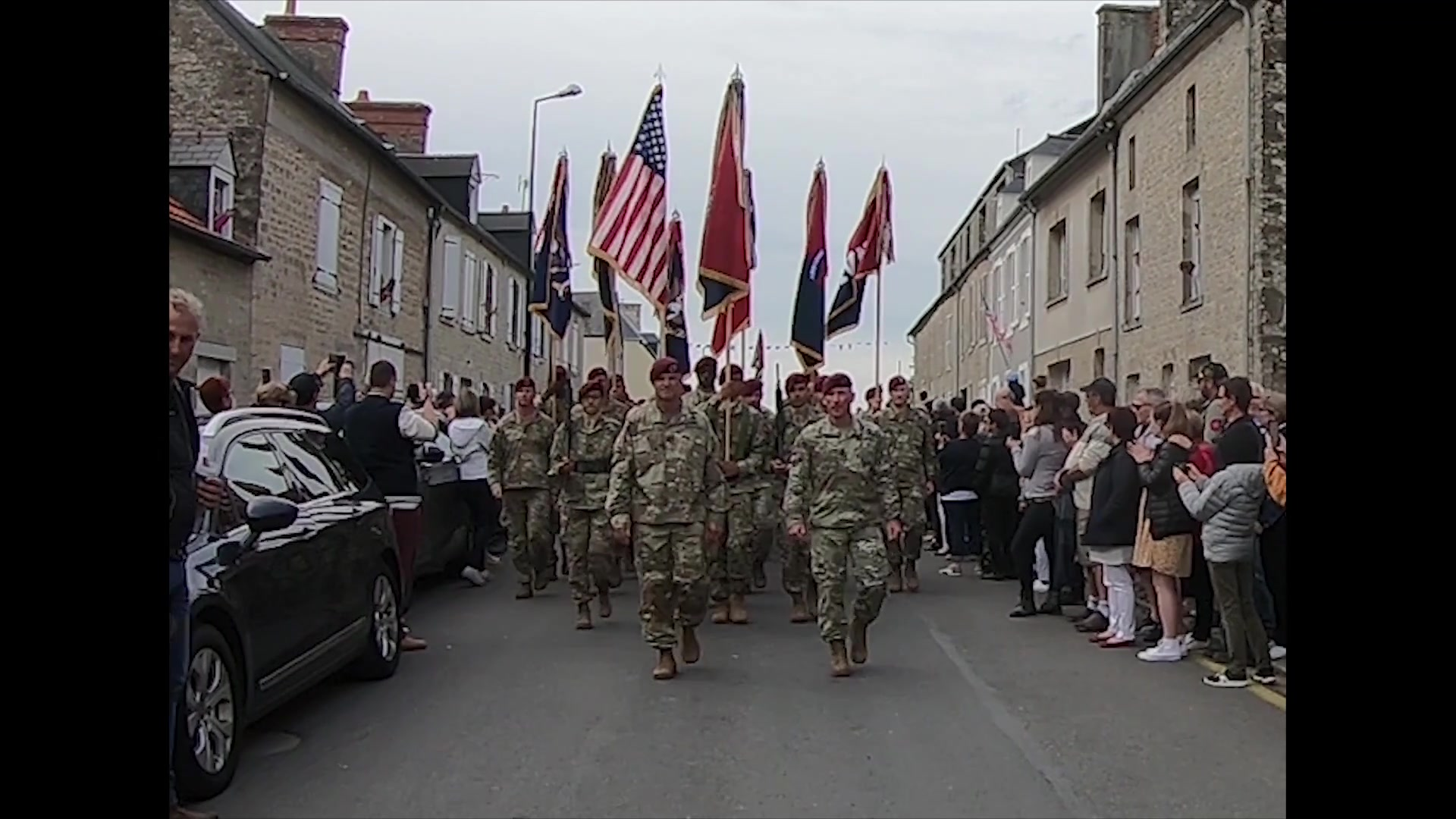 82nd Airborne Paratroopers celebrate 75th D-Day 75