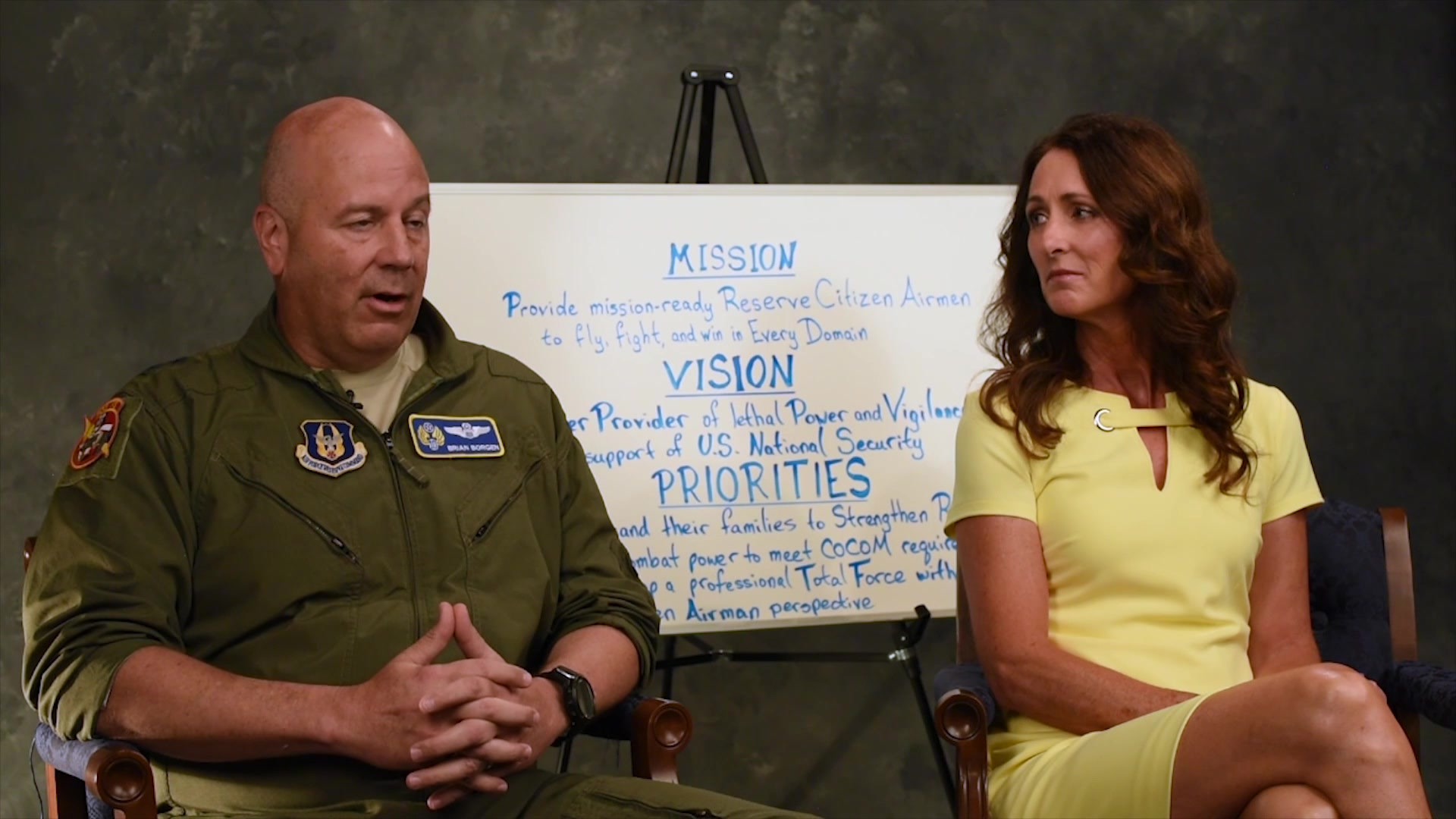 In the July Commentary, Maj. Gen. Brian Borgen, 10th Air Force Commander, discusses his first two months in command, his mission vision and priorities and servant leadership. Also, Mrs. Mary Borgen, 10th Air Force Key Spouse, discusses the Key Spouse Program and her priorities for the program.