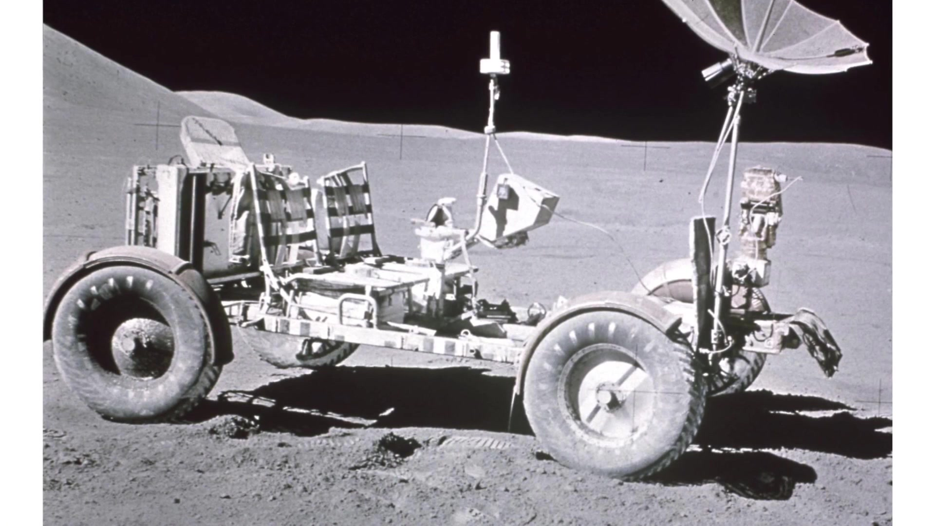 ERDC Historian Terry Winschel discusses the work done at Waterways Experiment Station to test the wheels of the Lunar Roving Vehicle that was driven on the surface of the moon.