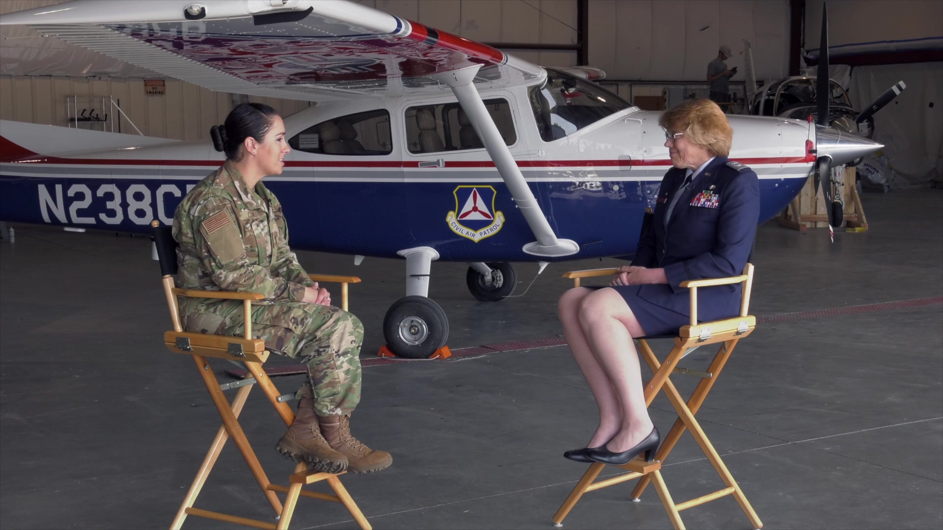 On this episode of Between 2 Frames, the new commander of Vermont's Civil Air Patrol, Col. Ann Brechbuhl, talks about the Civil Air Patrol and their connection with the Vermont National Guard.
