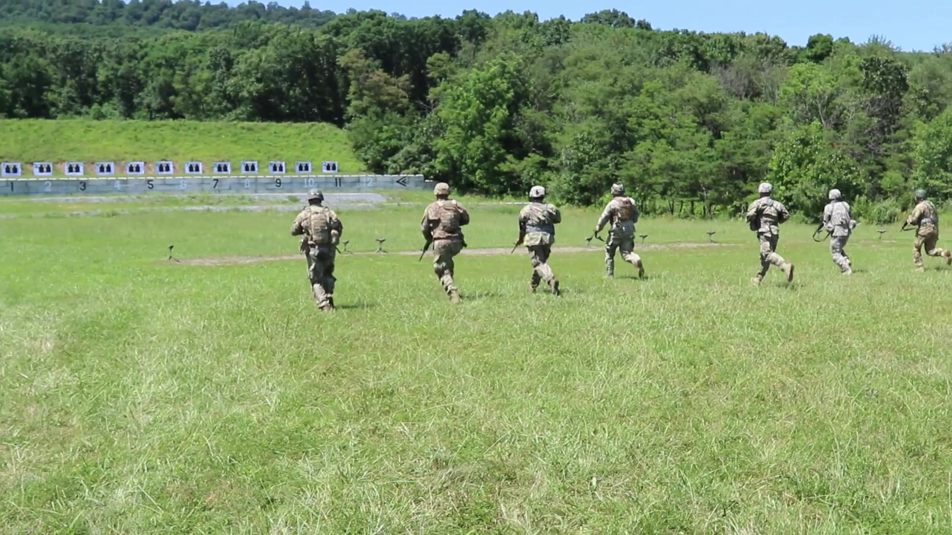 Seventy Pennsylvania National Guard (PNG) Soldiers and Airmen competed with rifles and pistols in multiple courses of fire to determine the best marksmen during the Governor's Twenty match at Fort Indiantown Gap on July 13, 2019.