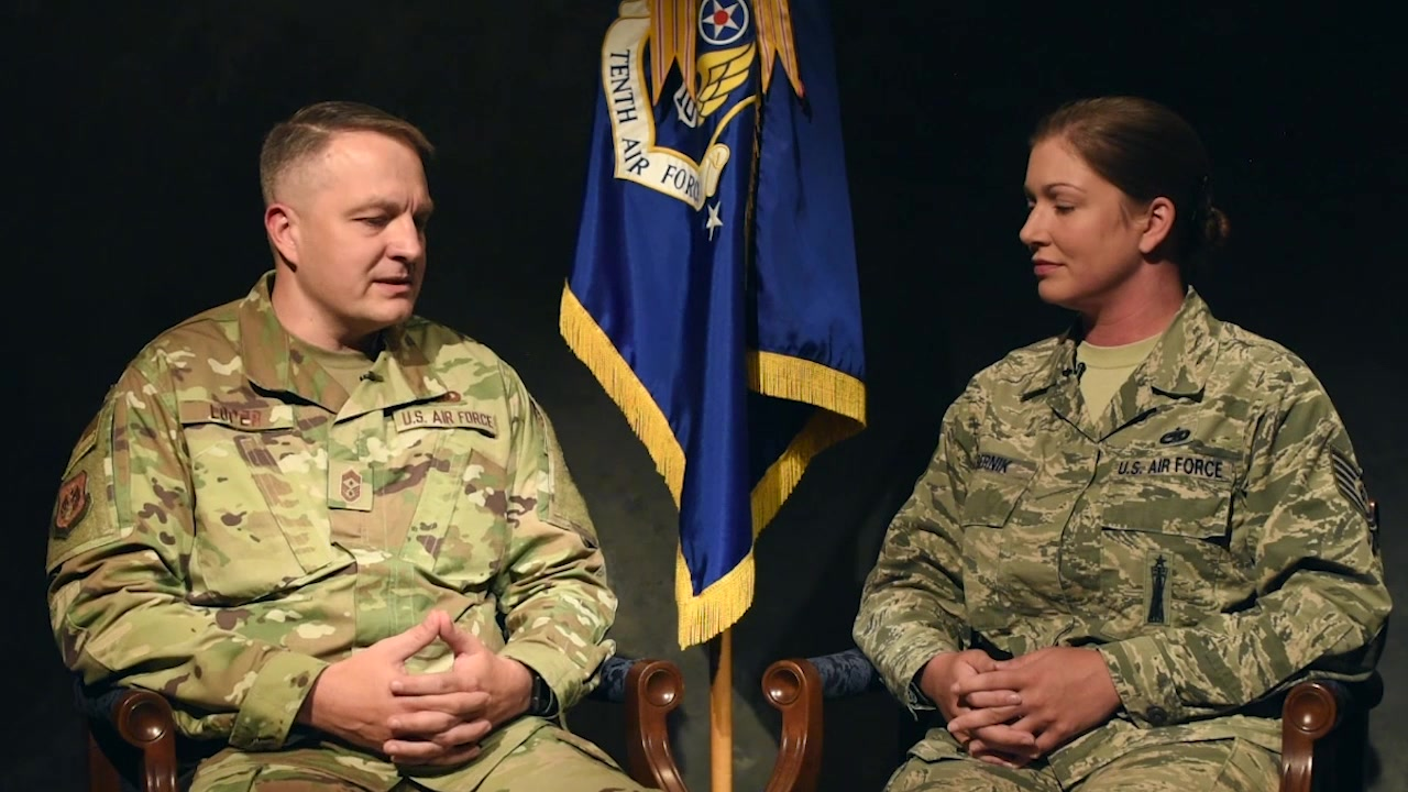 In the August Commentary, Tenth Air Force Command Chief, Chief Master Sgt. James Loper sits down with Tech Sgt. Erin Bernik, of the 301st Fighter Wing Safety Office, to answer some questions of interest to the Reserve Citizen Airmen of Tenth Air Force.