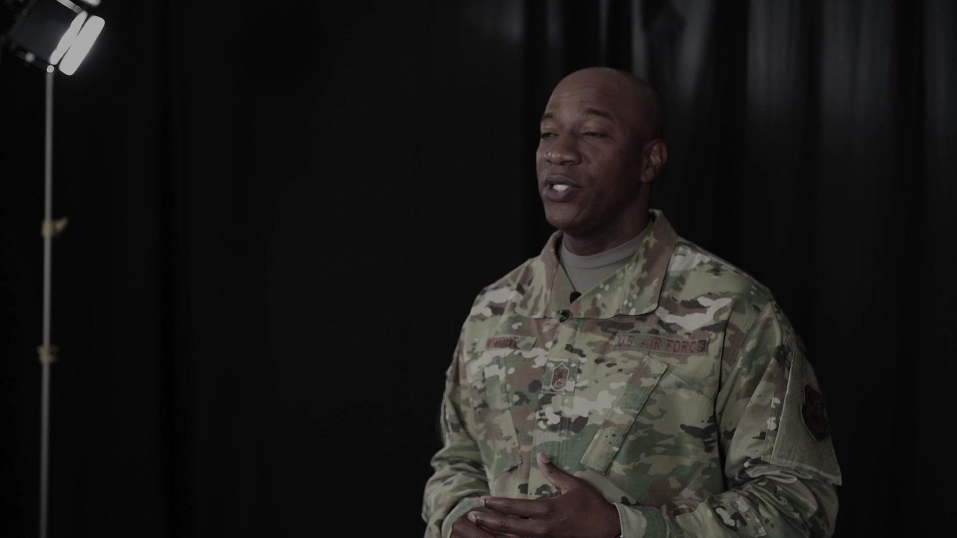 A resiliency message to Airmen from Chief Master Sergeant of the Air Force, Kaleth O. Wright.
