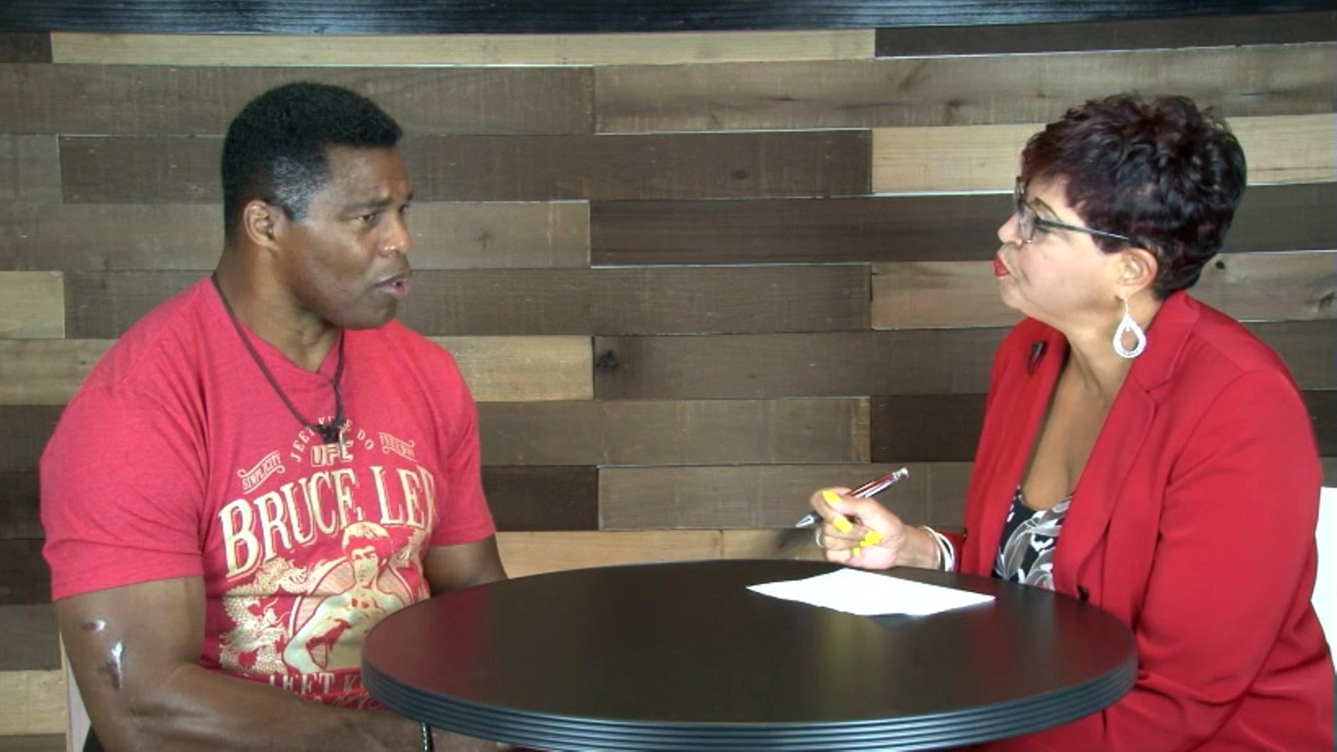 This is the full interview of Herschel Walker on resiliency and mental illness.