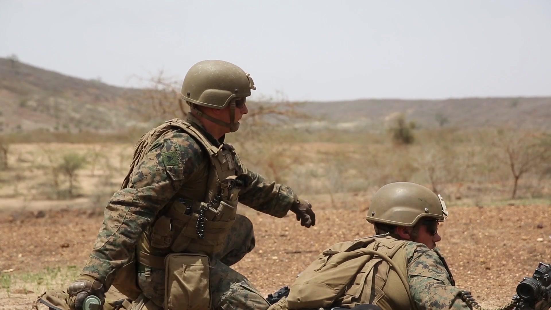 Italian Troops • Mortar Team Firing • Exercise Steadfast Defender 2021