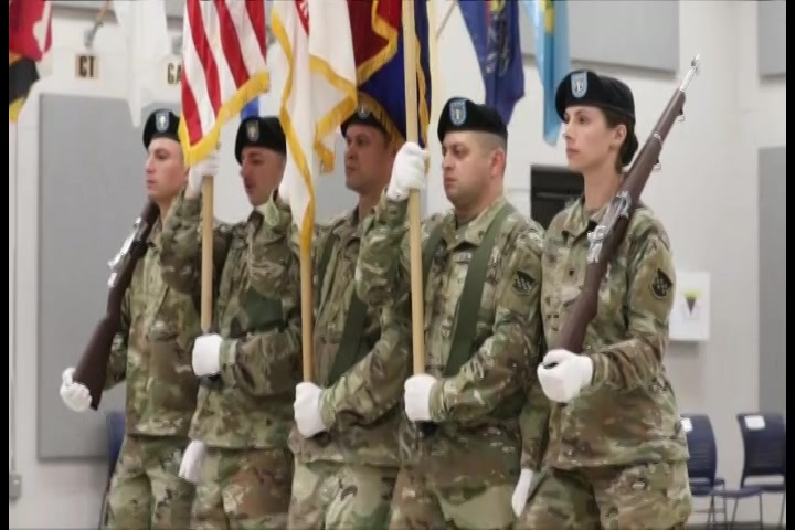 The 99th Readiness Division welcomes their new Command Sergeant Major John Zimmerman.