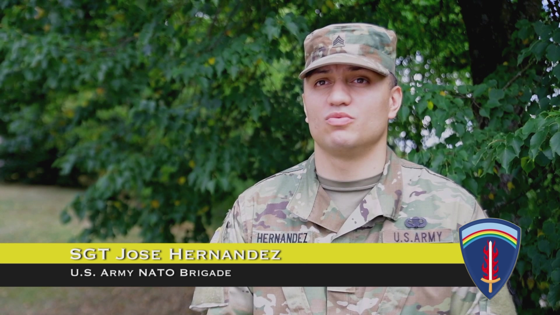 U.S. Army Europe Soldiers present an overview of the mission and importance of U.S. Army Europe.