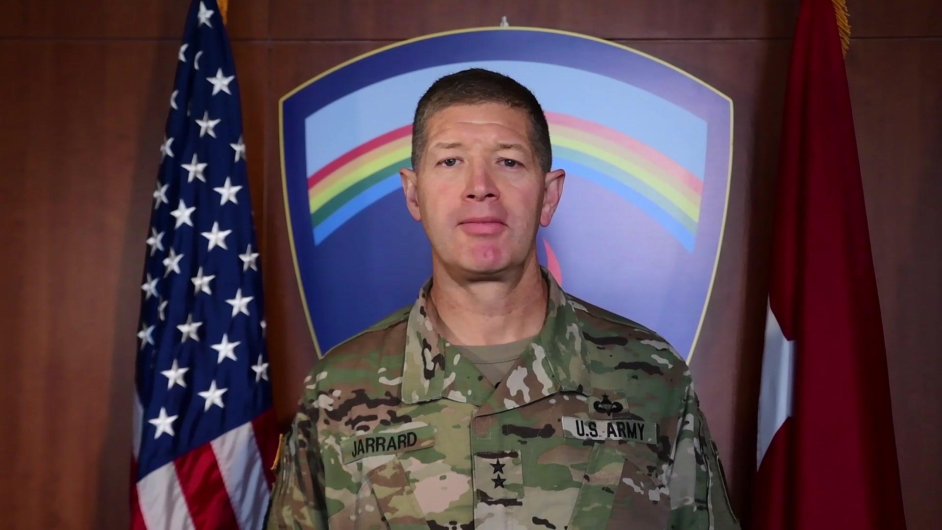 Maj. Gen. Joe Jarrard, U.S. Army Europe Deputy Commanding General for Army National Guard.
