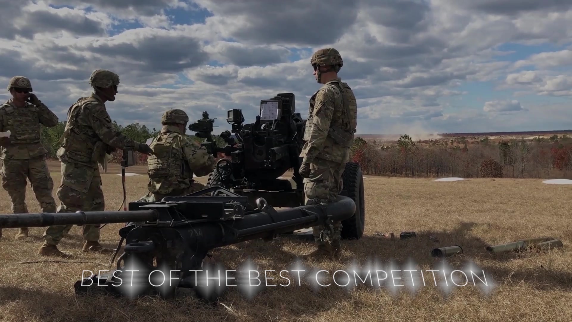 U.S. Army – 82nd Airborne Cannon Crew – Best of the Best Competition Oct. 22, 2019