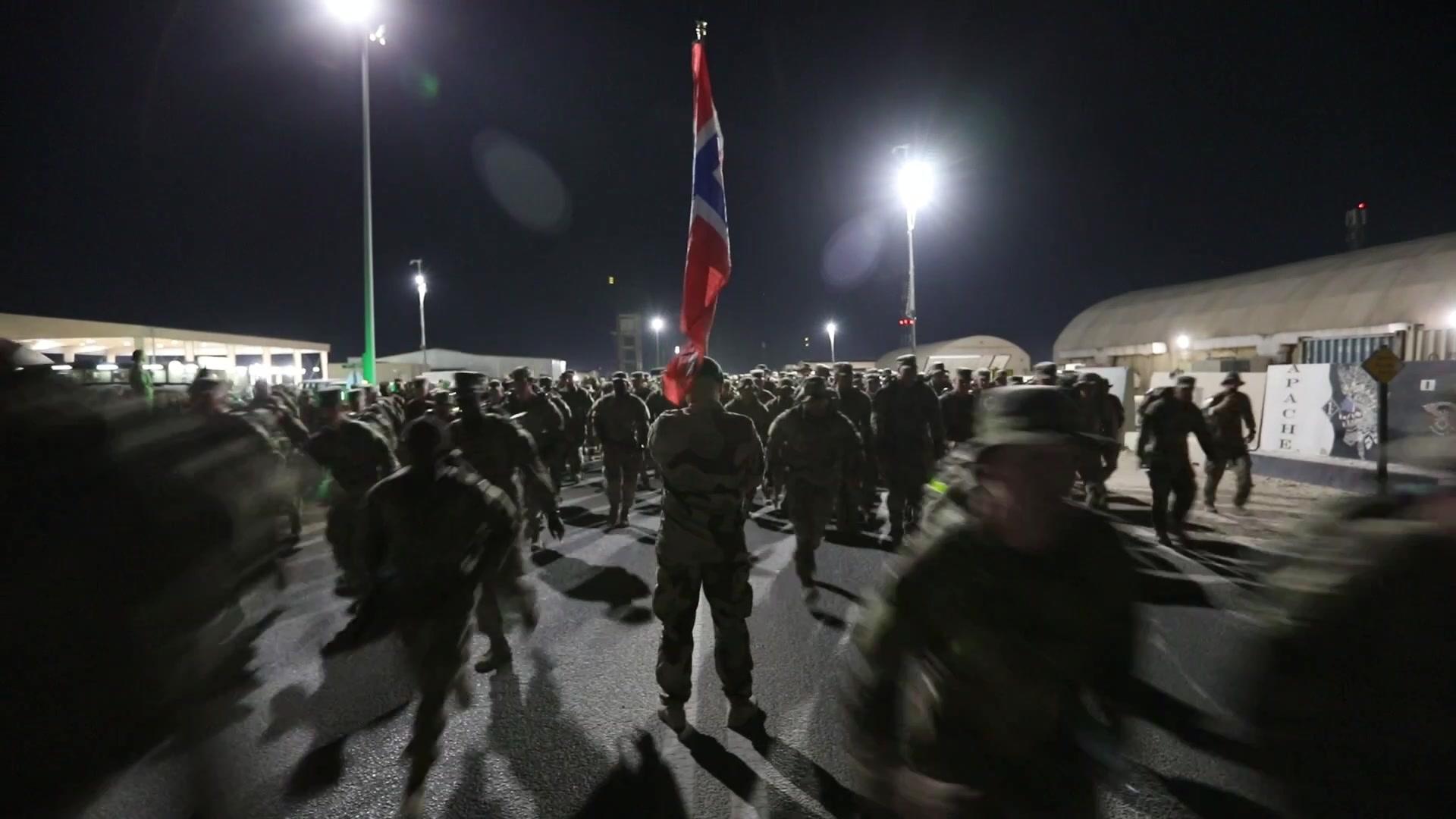 US Troops Test Their Viking Spirit in 30K Norwegian Foot March