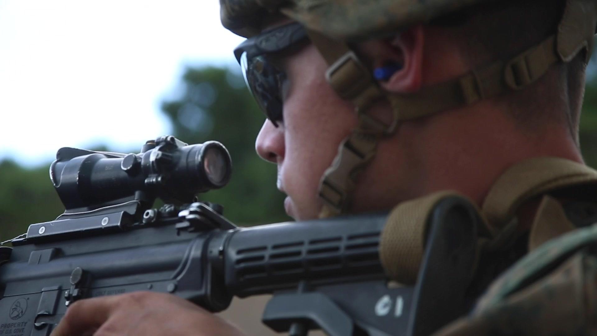 U.S. Marines – Combat Assault Company FEX Exercise – Oct. 30-31 – 2019