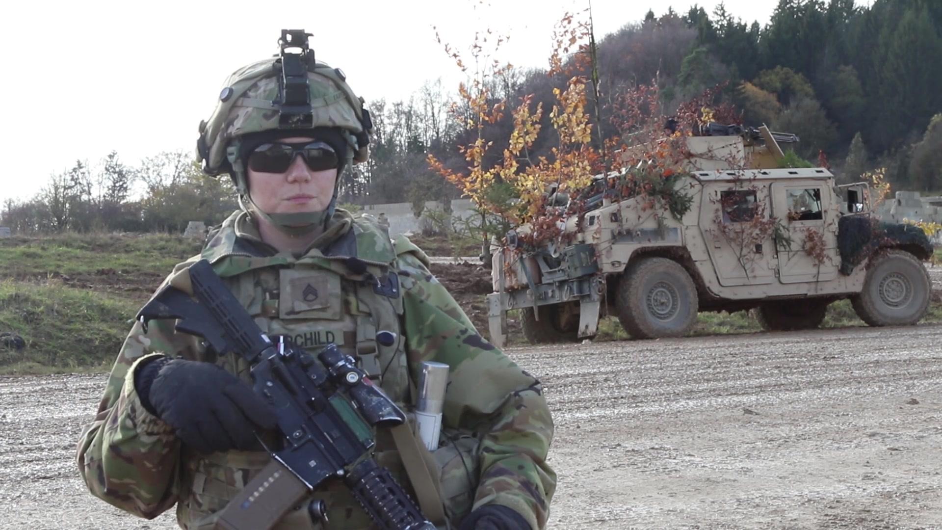 US Army- 2nd Cavalry Regiment Prepare Defenses for Dragoon Ready 20 – 3 Nov – 2019