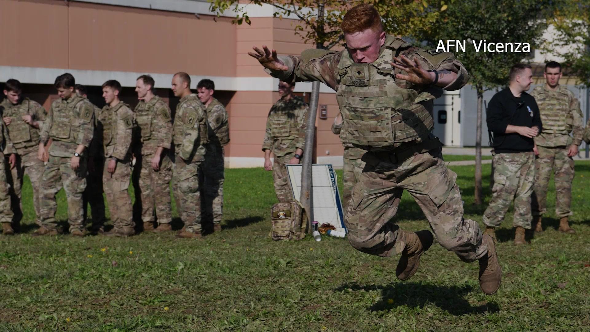 The US Army – 173rd Airborne Brigade Brostrom Challenge 2019