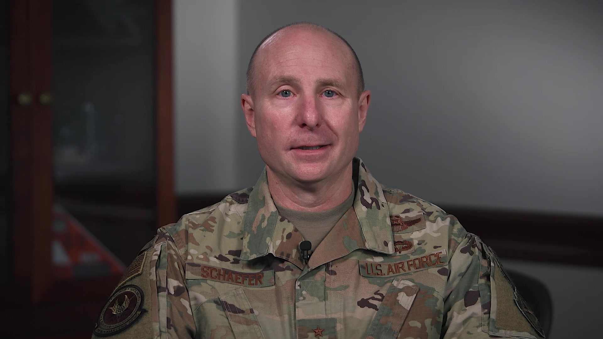 Maj. Gen. Carl Schaefer, Deputy Commander of Air Force Materiel Command, Wright-Patterson Air Force Base, Ohio, shares his perspectives on the importance of communication to create meaningful change. For more information, visit www.afmc.af.mil/connect. (U.S. Air Force Video by Matthew Clouse and Christopher Decker)