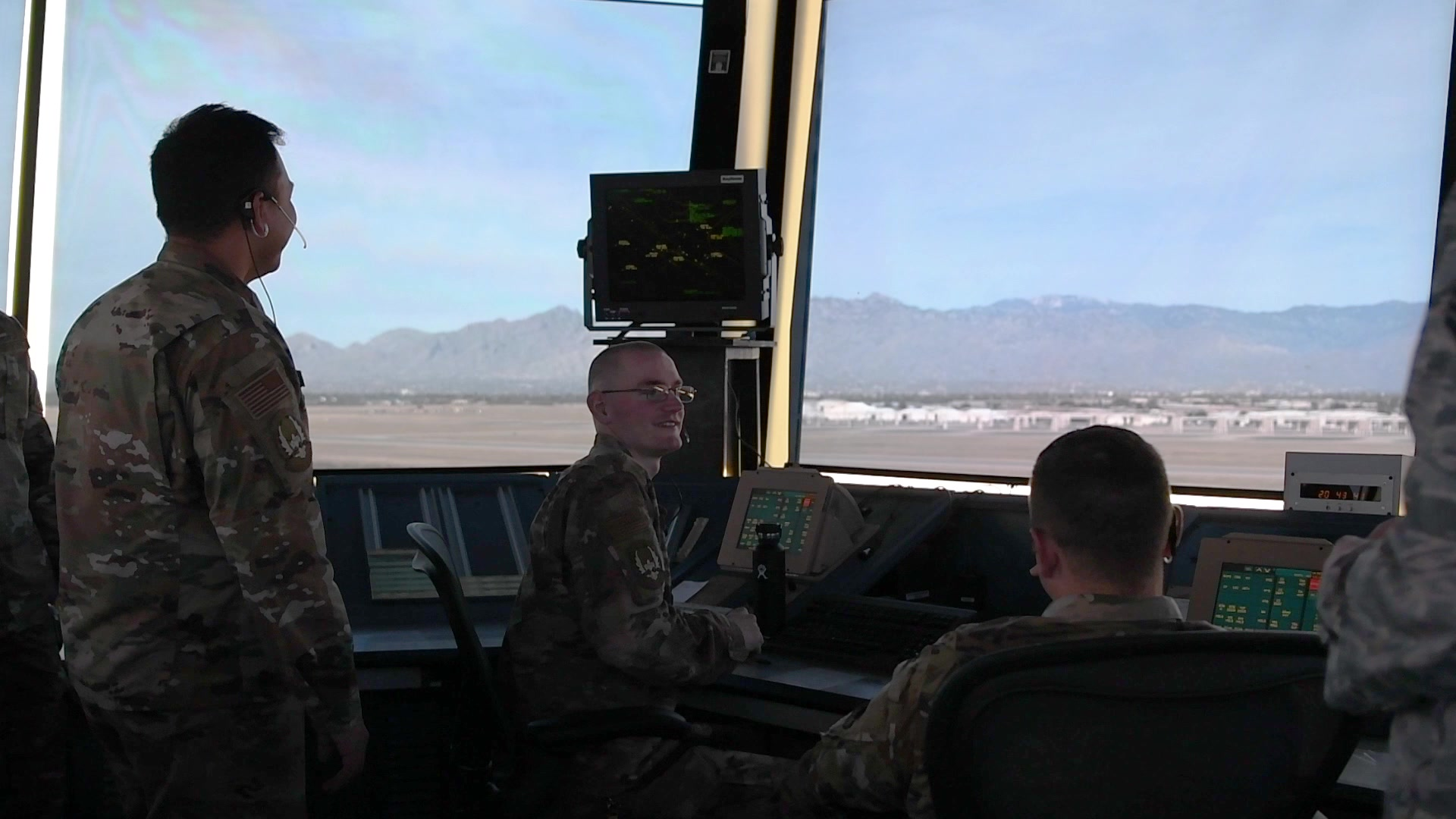 Video: Airman explain the mission of the Air Traffic Control tower.