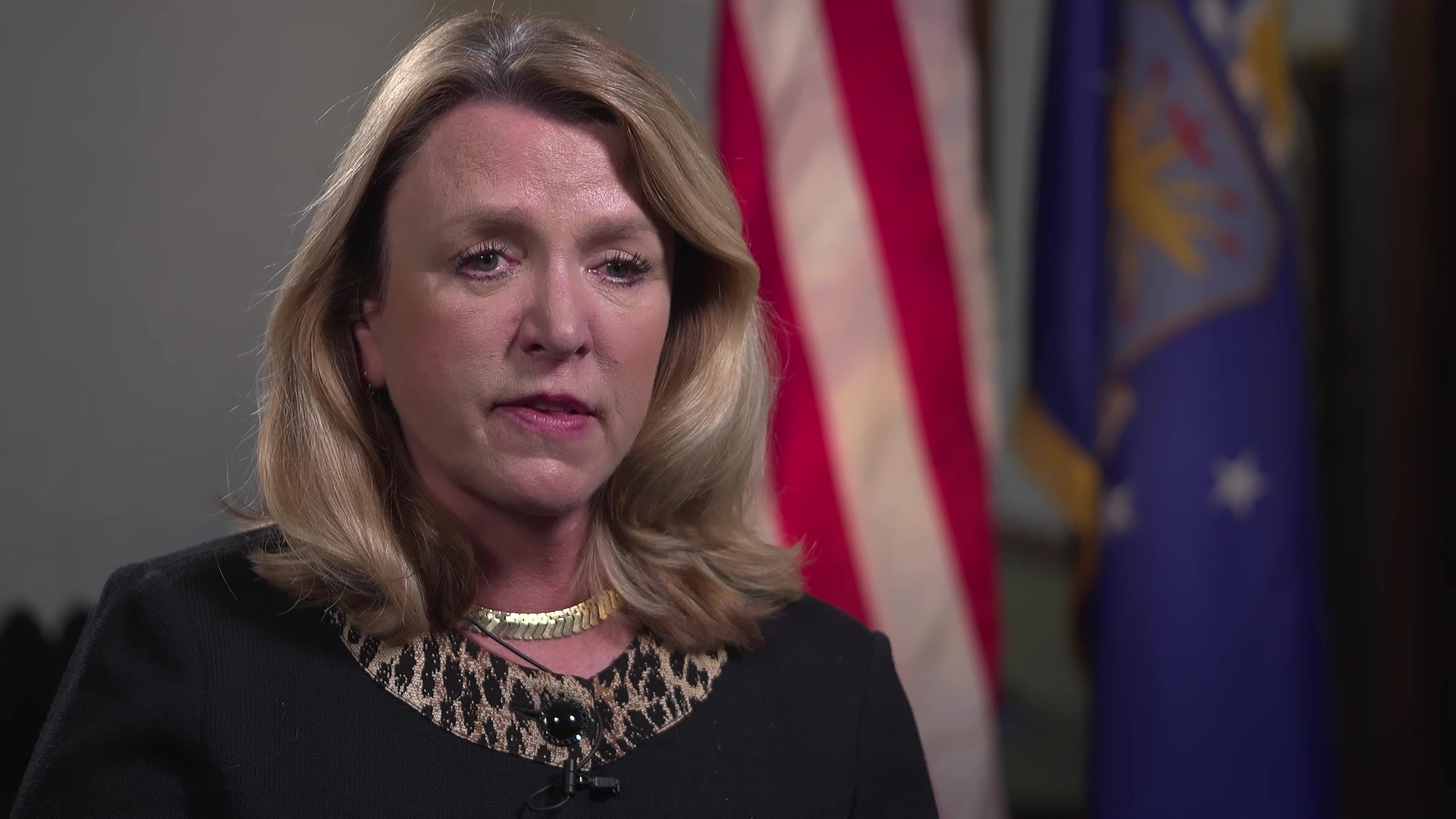 Deborah Lee James, the 23rd Secretary of the Air Force, shares her perspectives on the importance of mentorship, Wright-Patterson Air Force Base, Nov. 20, 2019. Air Force Materiel Command shares the impact of mentoring through first-person experiences from Air Force leaders. (U.S. Air Force Video by 88th Air Base Wing Public Affairs)