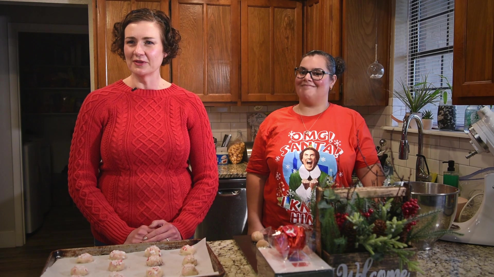 "Goodfellow spouses and San Angelo volunteers came together to deliver holiday cheer to service members through their annual ""Cookie Caper"" event."