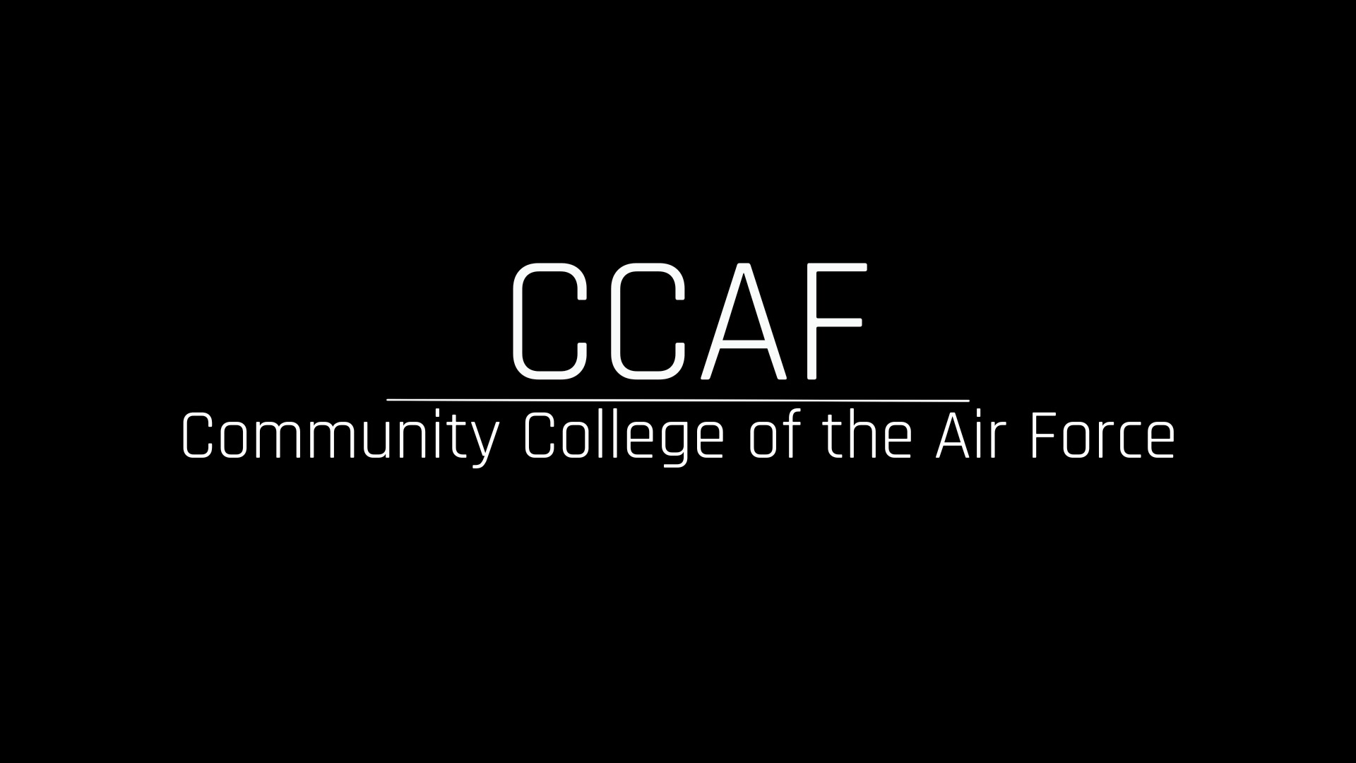 The Community College of the Air Force is a federally-chartered academic institution that serves the United States Air Force's enlisted total force. We partner with 112 affiliated Air Force schools and 300 Education Service Offices located worldwide to serve approximately 270,000 active, guard, and reserve enlisted personnel, making CCAF the world's largest community college system. The college annually awards over 22,000 associate in applied science degrees from 71 degree programs. 