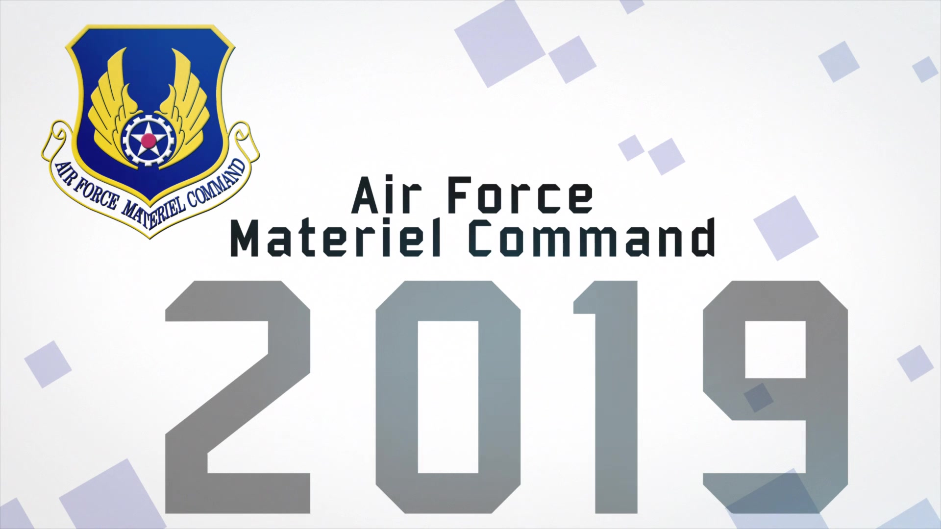The Air Force Materiel Command wraps up 2019 with a review of the command successes over the past year. From the launch of new technologies to the acceleration of acquisition processes and more, every Air Force mission is made possible by the efforts of AFMC Airmen.