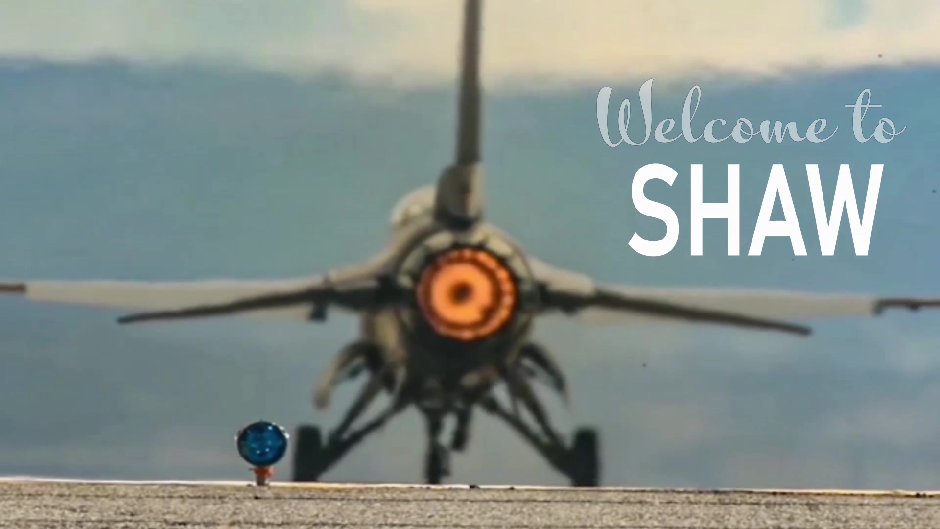 A video with information about the Shaw Air Force Base visitors center.