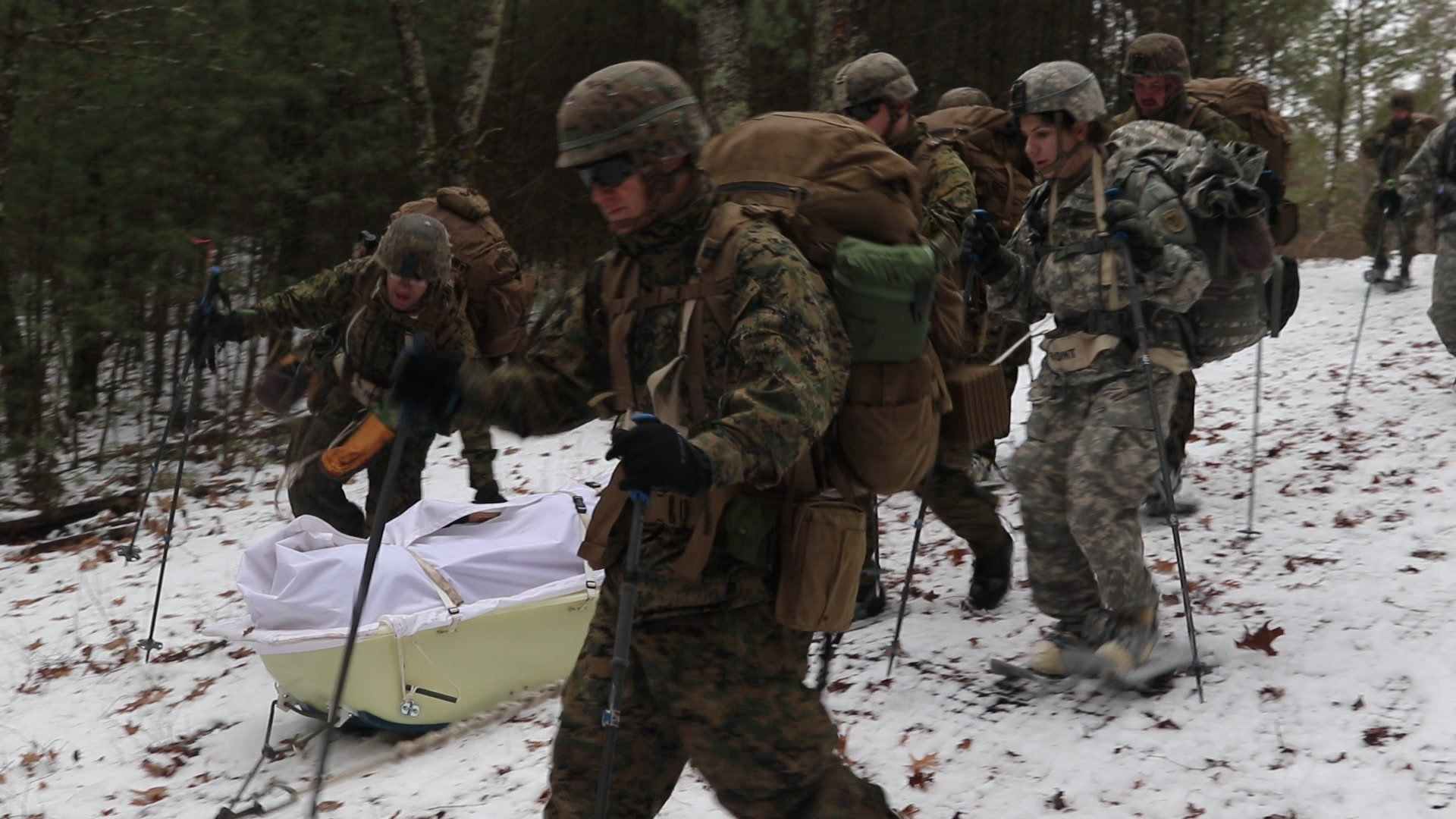 US 3rd Recon Marines Planning Observation Posts – Japan, Jan. 27, 2020