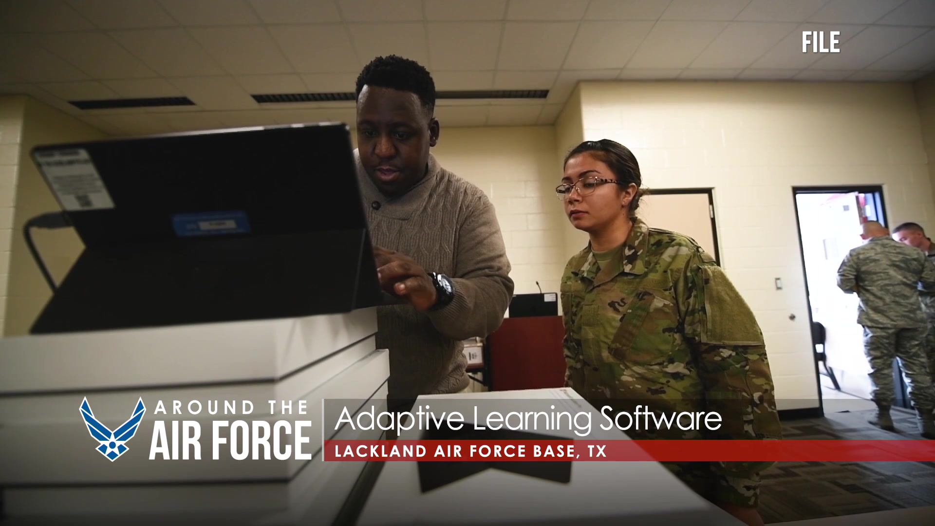 Today's look Around the Air Force features the this year's 6 Spark Tank winners, a transition from textbooks to tablets in Basic Military Training, and some information on Air Force Connect.