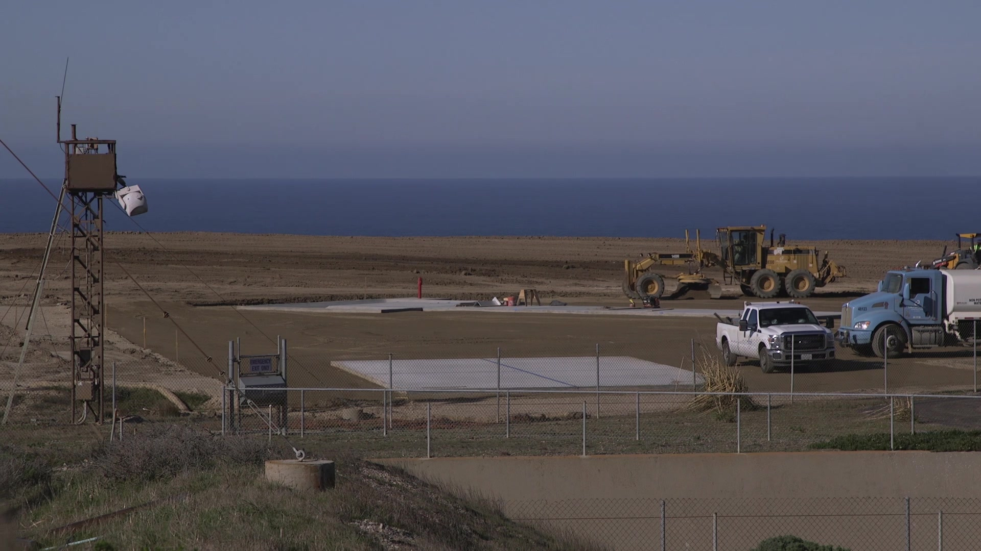 Video of Space Launch Complex 8 renovations