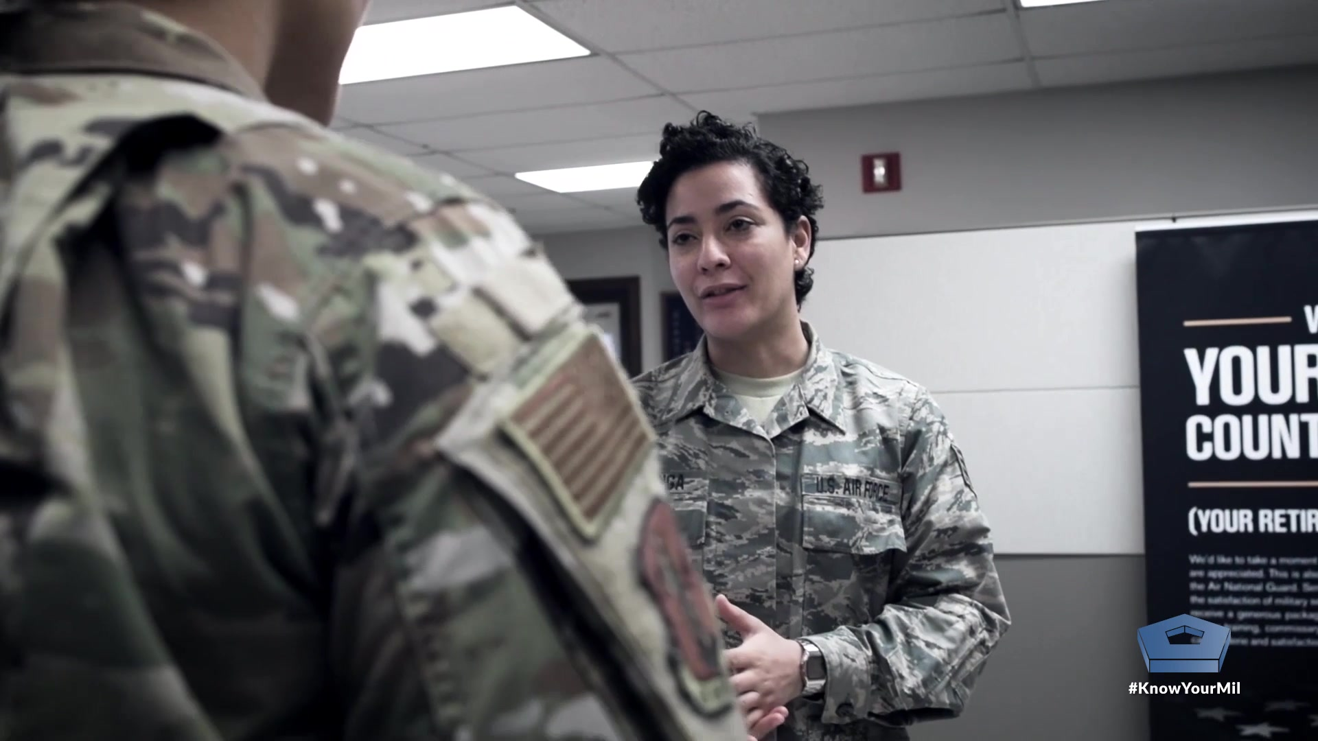 """She was looking for something. A place where she fit in. Where she belonged. Call it a family, or a calling that's bigger than yourself. Air Force Staff Sgt. Marcee Lettinga calls it """"a hidden treasure.""""  Video by Air Force Master Sgt. Scott Thompson"""