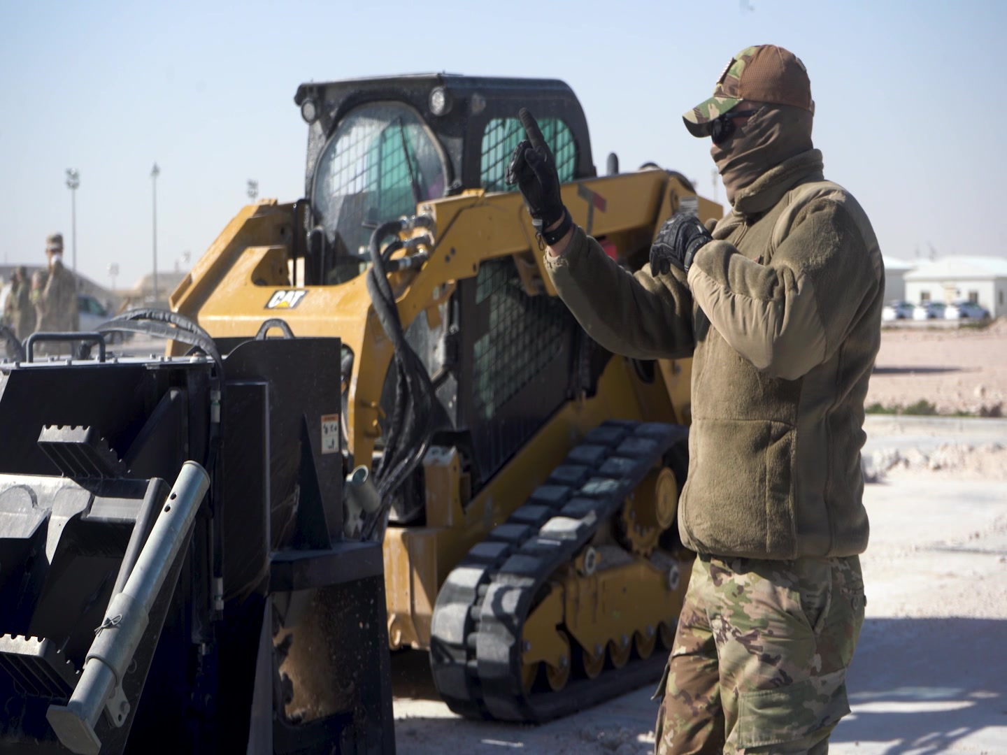The 379th Expeditionary Civil Engineer Squadron took part in Rapid Airfield Damage Recovery (RADR) training at Al Udeid Air Base, Qatar on February 12, 2020. Mobile training teams from the 435th Construction and Training Squadron at Ramstein Air Base, Germany, conducted the training to ensure 379 ECES Airmen are ready to respond to real-world threats.