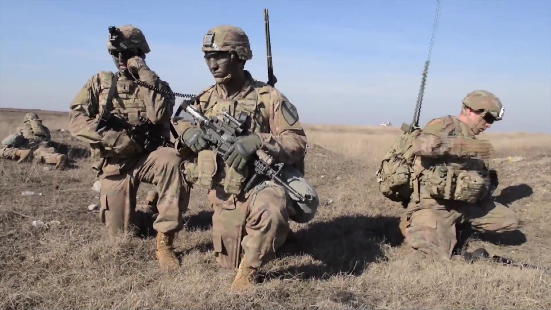 1st Cavalry Division and multinational partner forces conduct a Combined Arms Live Fire Exercise in Romania and Bulgaria