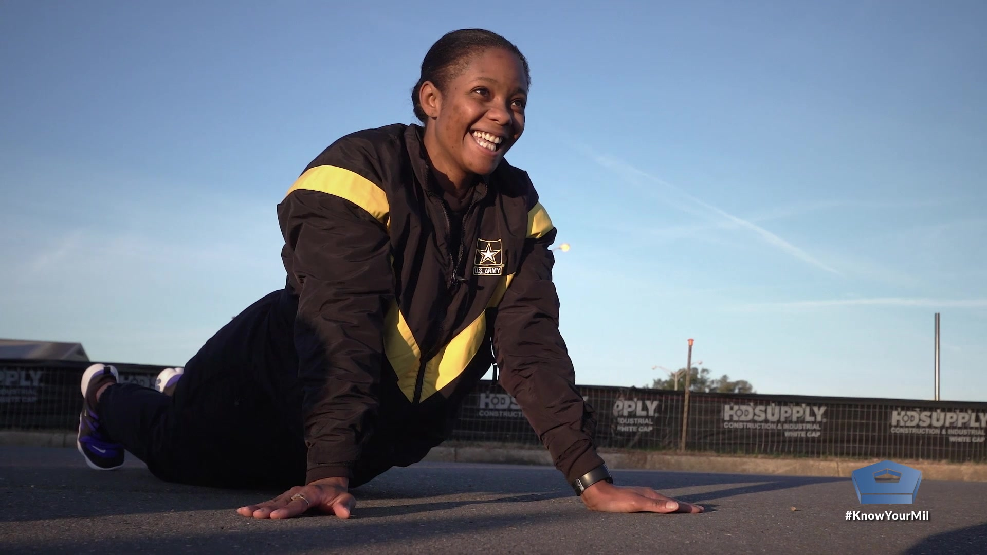 Alisia McKennon shares how she went from 275 pounds to become a fit soldier. She had failures along the way, but she says failure can inspire people to rise above their challenges and achieve their goals.  Video by Army Staff Sgt. Almon Bate, DOD