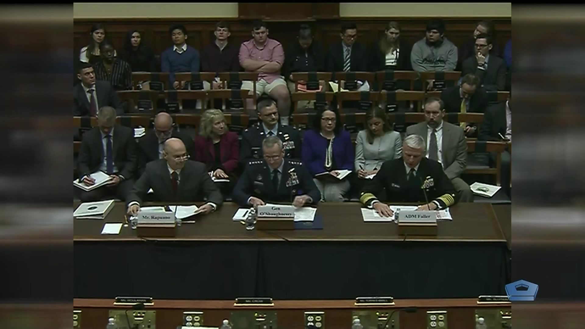 Video of House Armed Services Committee testimony