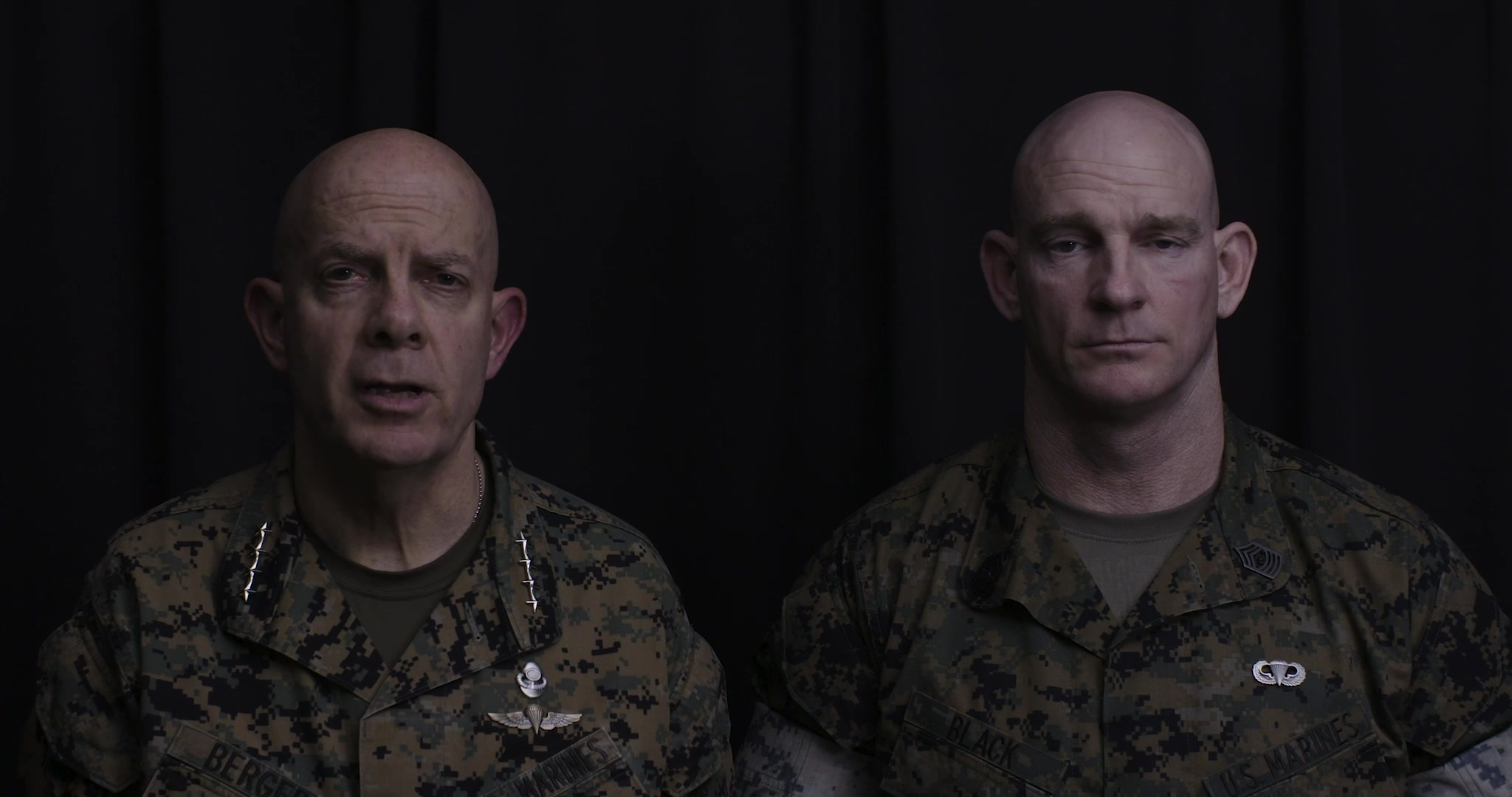 The Commandant and Sergeant Major of the Marine Corps deliver a message to the force regarding COVID19, restrictions on graduations at the Marine Corps Recruit Depots, Officer Candidate School and The Basic School, as well as guidance on travel and PCS. (U.S. Marine Corps video by Staff Sgt. James R. Skelton)