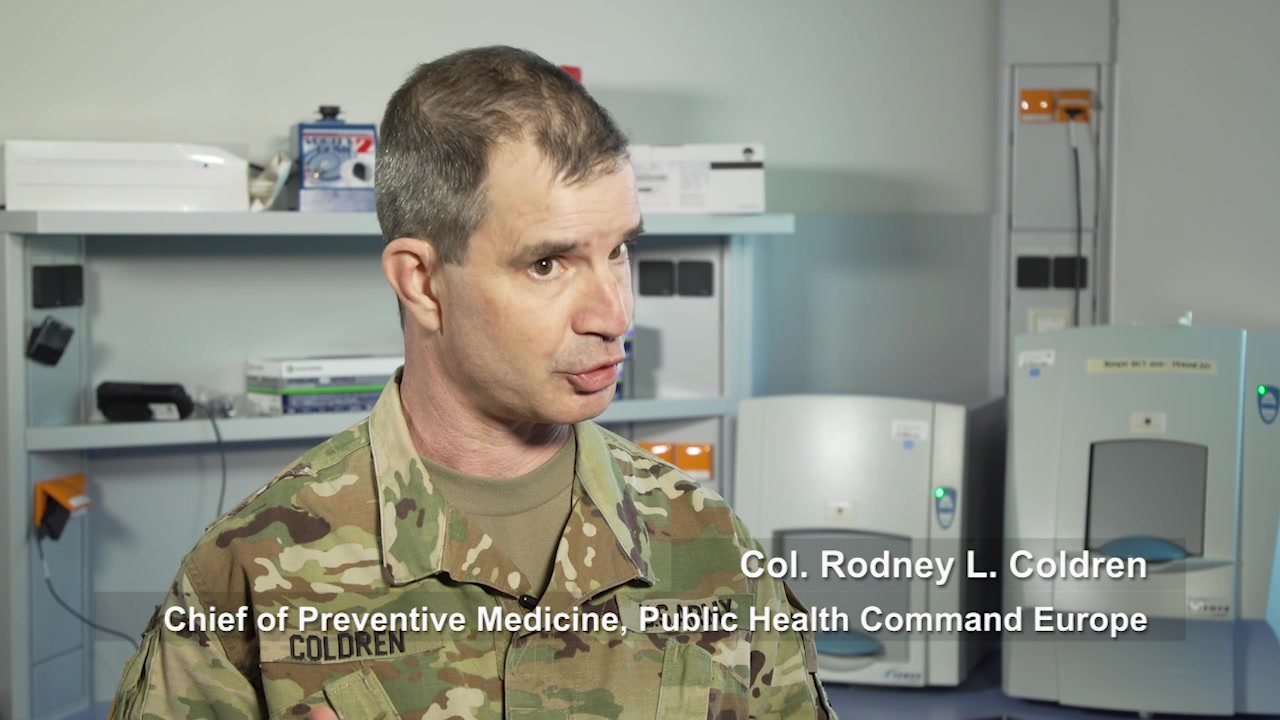 Video: Public Health Command Europe on COVID19 - Necessary Supplies