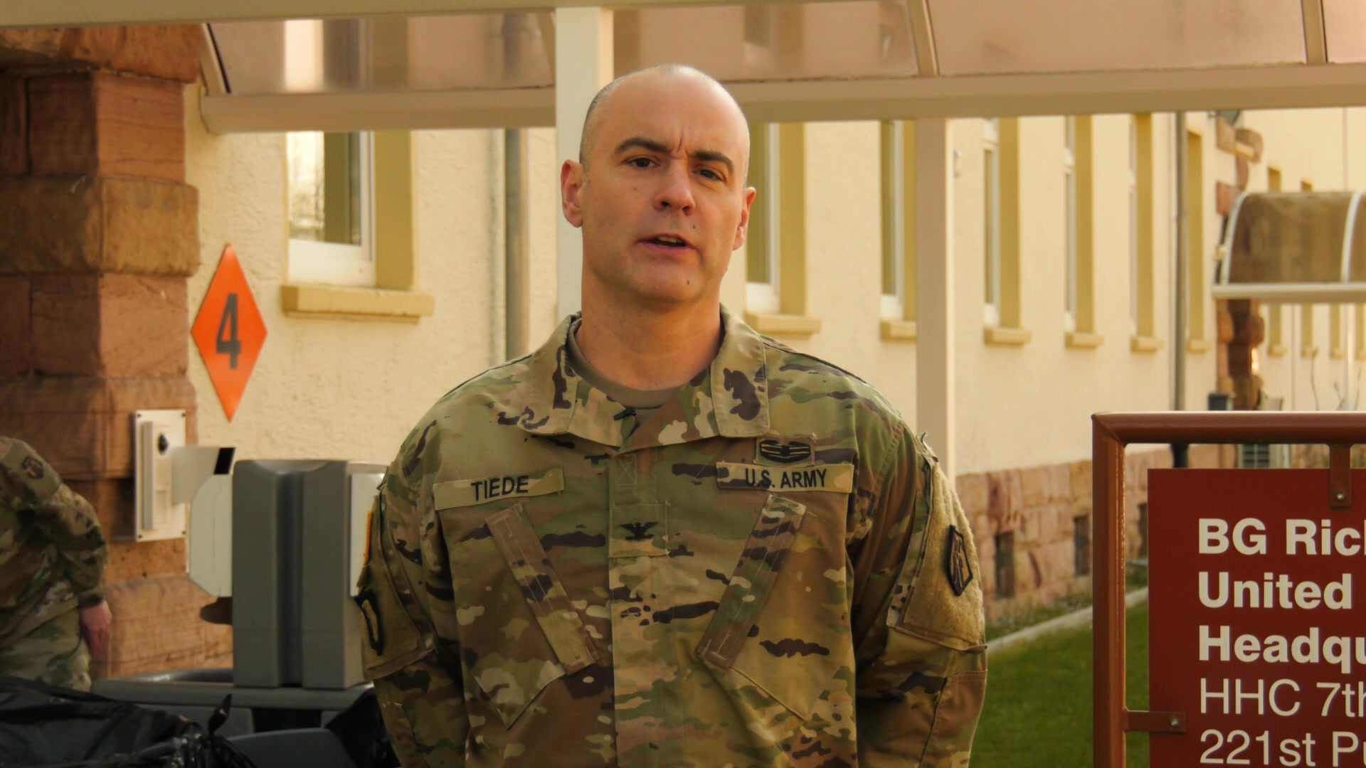 7th MSC Command Surgeon, Col. Jeffrey Tiede, discusses continued precautionary measures to carry out during COVID-19.