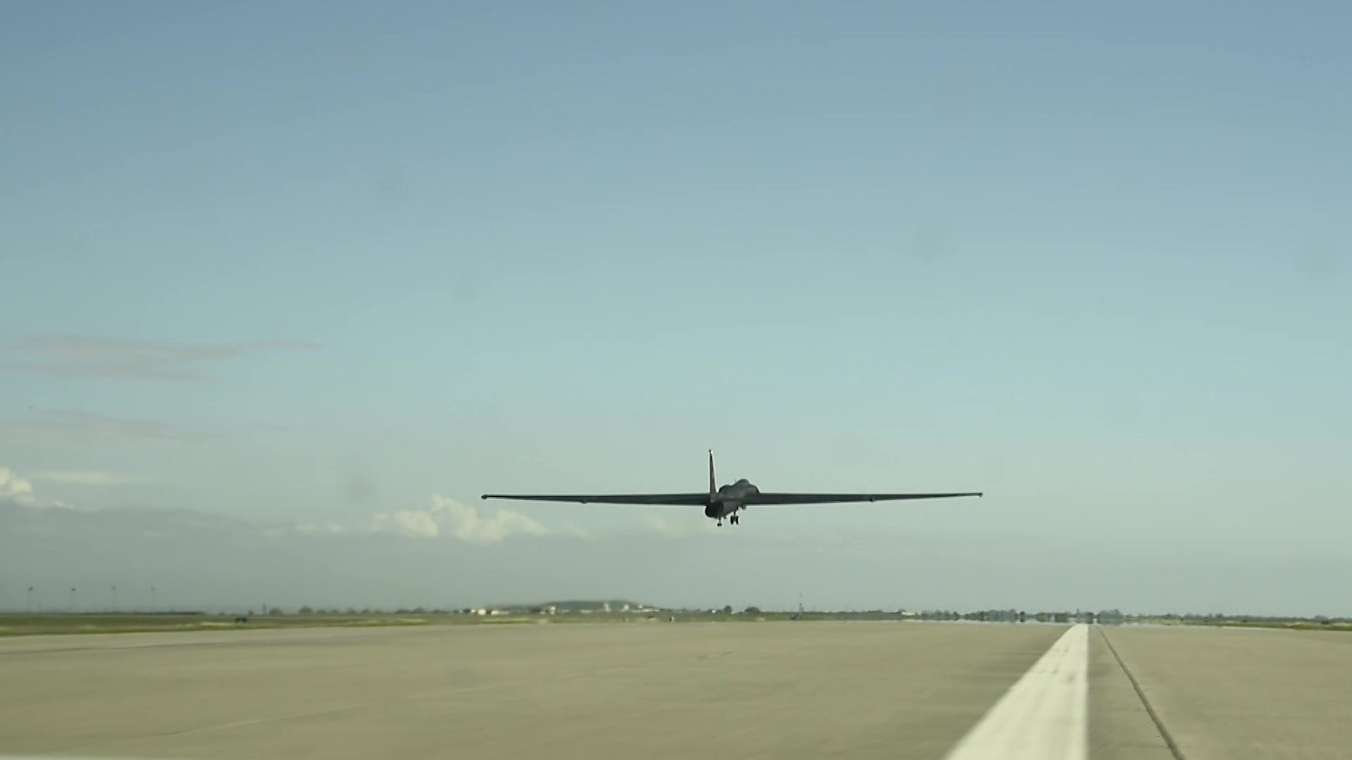 This video footage highlights Air Force Base, U-2 Dragon Lady mission