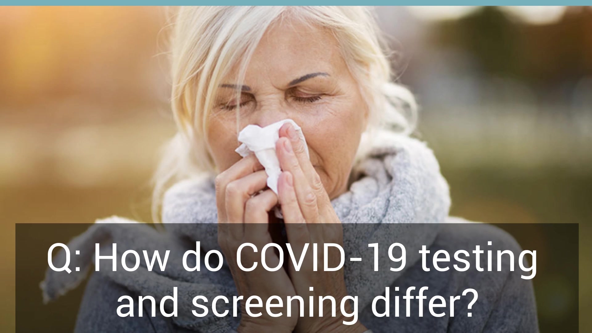 Defense Health Agency recently released Q & A regarding COVID-19 testing, screening, quarantine, and isolation. Photos: Courtesy photos CDC, DHA, National Institute of Health.