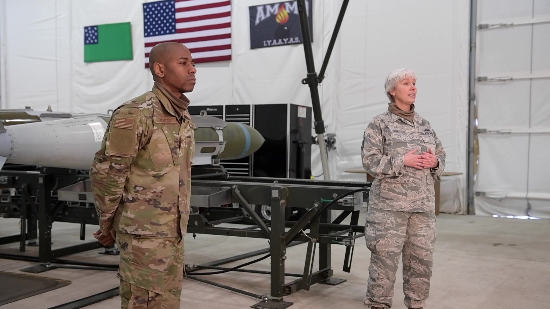SMSgt Tina Deep and TSgt Juan Coleman bring you an important update from the Vermont Air National Guard command team on our continued response, as well as wing initiatives, during the COVID-19 pandemic.