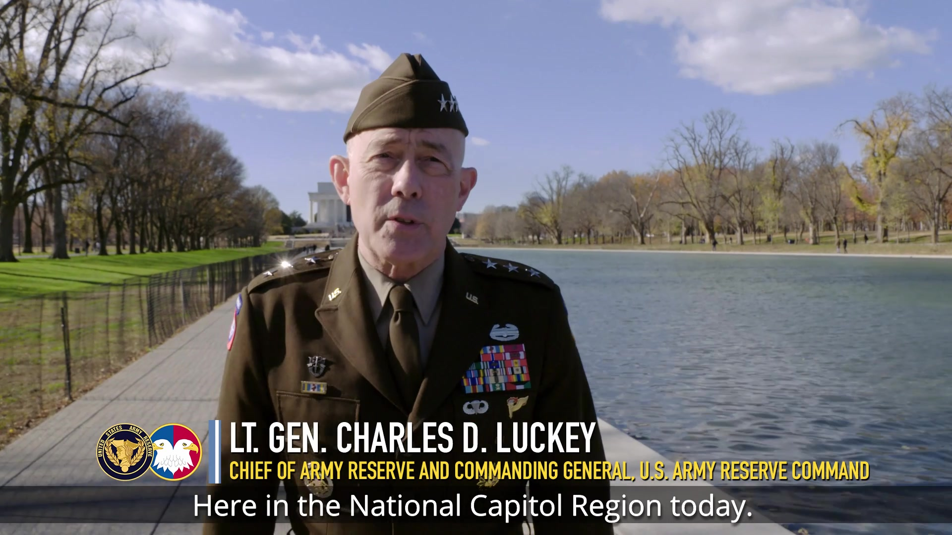 As we prepare to take another trip around the sun, Lt. Gen. Charles D. Luckey, chief of Army Reserve and commanding general, U.S. Army Reserve Command, reflects on how history informs us of the importance of service and reminds us of the values necessary to be a citizen and a Soldier in America's Army.